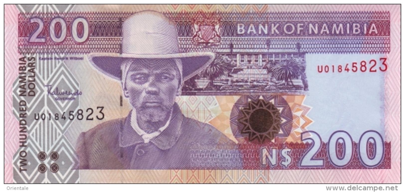 NAMIBIA P. 10b 200 D 1996 UNC - Namibia