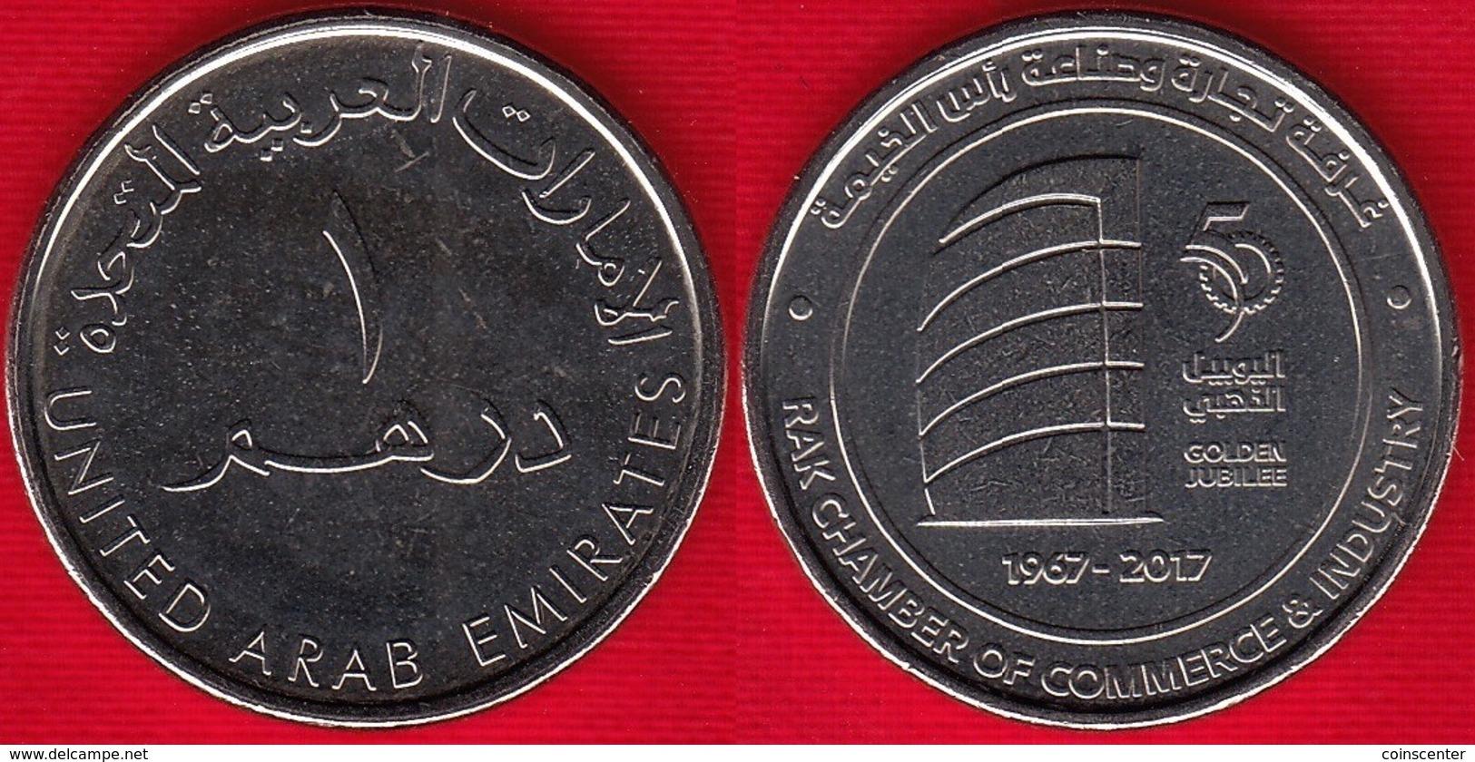 "United Arab Emirates 1 Dirham 2017 ""Ras Al Khaimah Chamber"" UNC - Emirats Arabes Unis"
