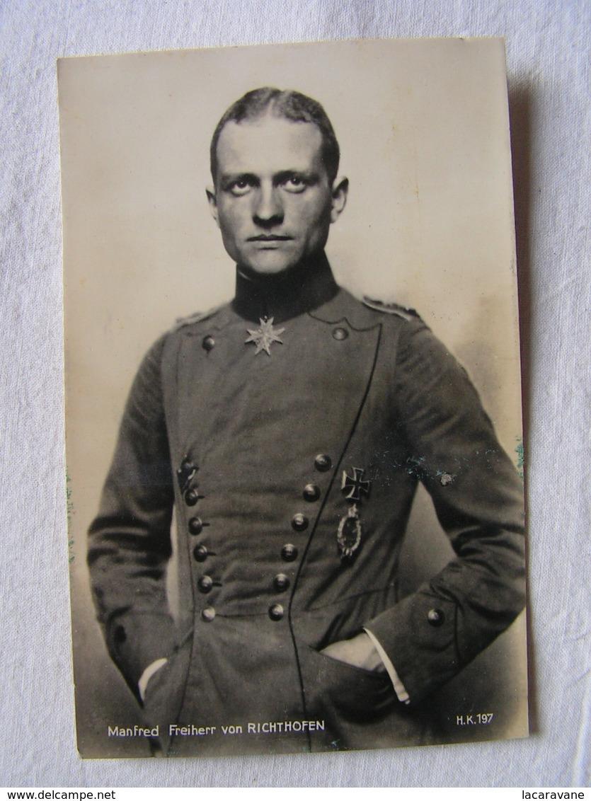 Ww1 Weltkrieg Kampf Flieger Pilote Avion Aviation Soldat Allemand Carte Photo Manfred Freiherr Von Richthofen 20 - Guerre 1914-18
