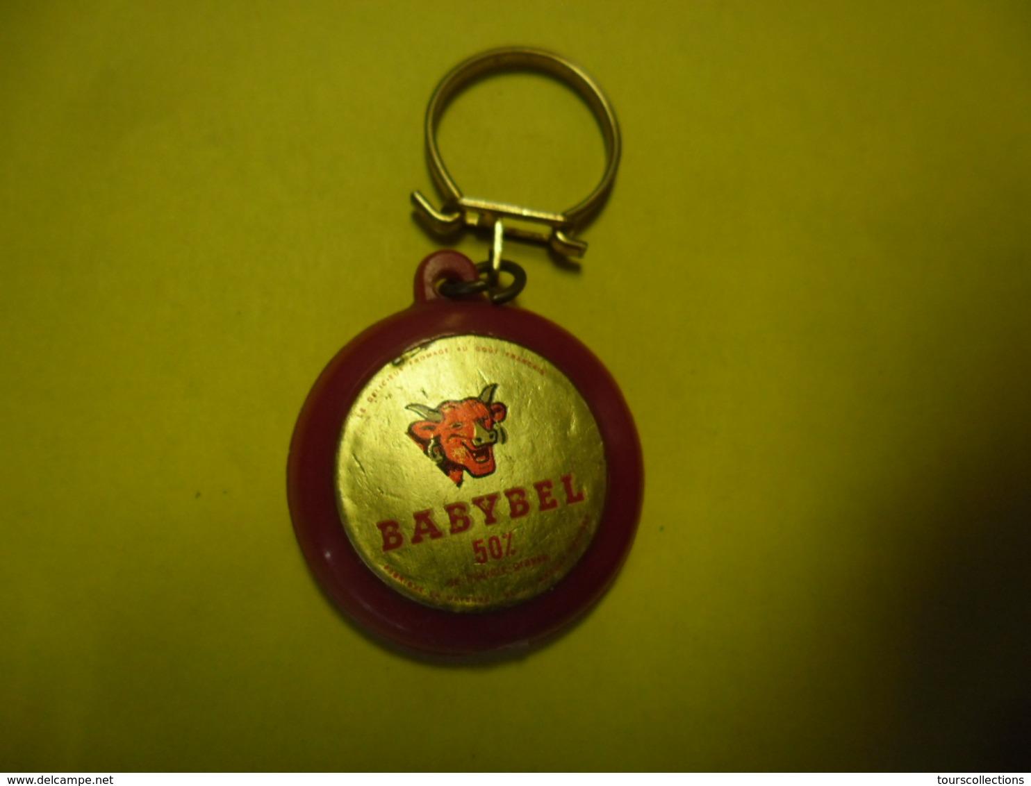 1 PORTE CLEFS LA VACHE QUI RIT - BABYBEL Fromage Fabriqué En Mayenne @ Vers 1965 - Porte-clefs