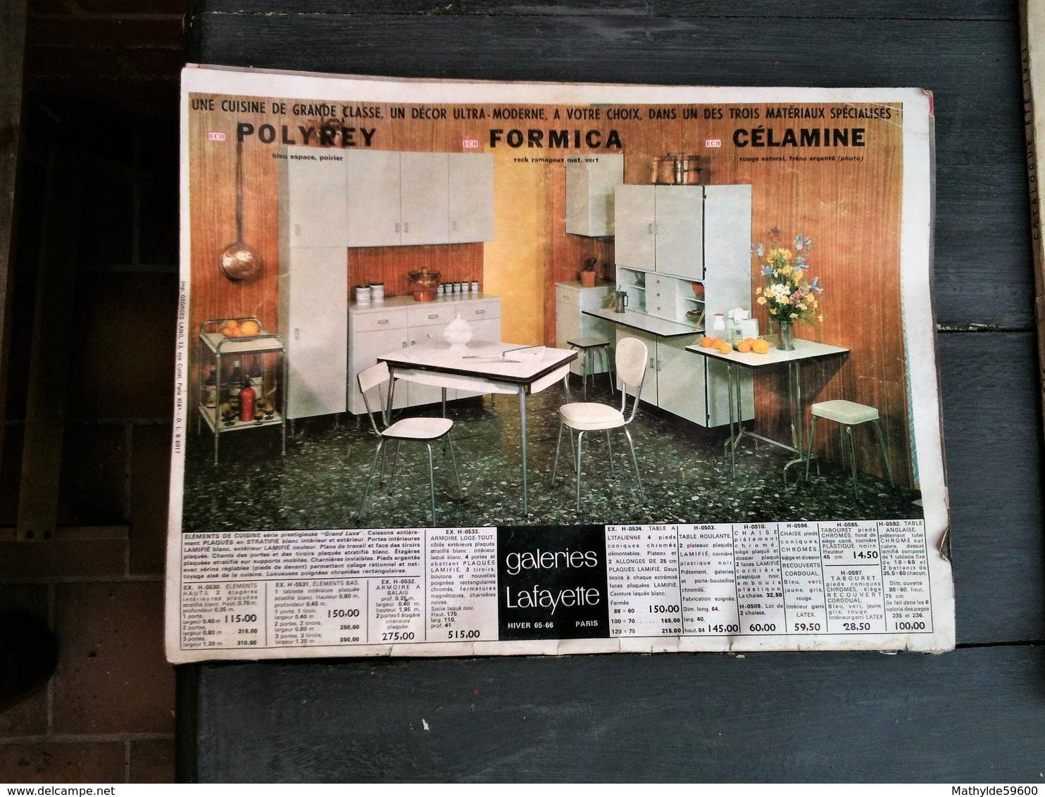 3 Cataologues Des Galeries LAFAYETTE - Paris - Huis & Decoratie