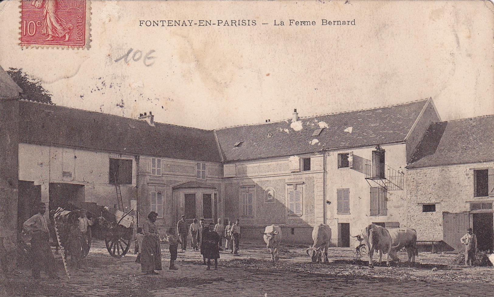 FONTENAY EN PARISIS - La Ferme Bernard - France