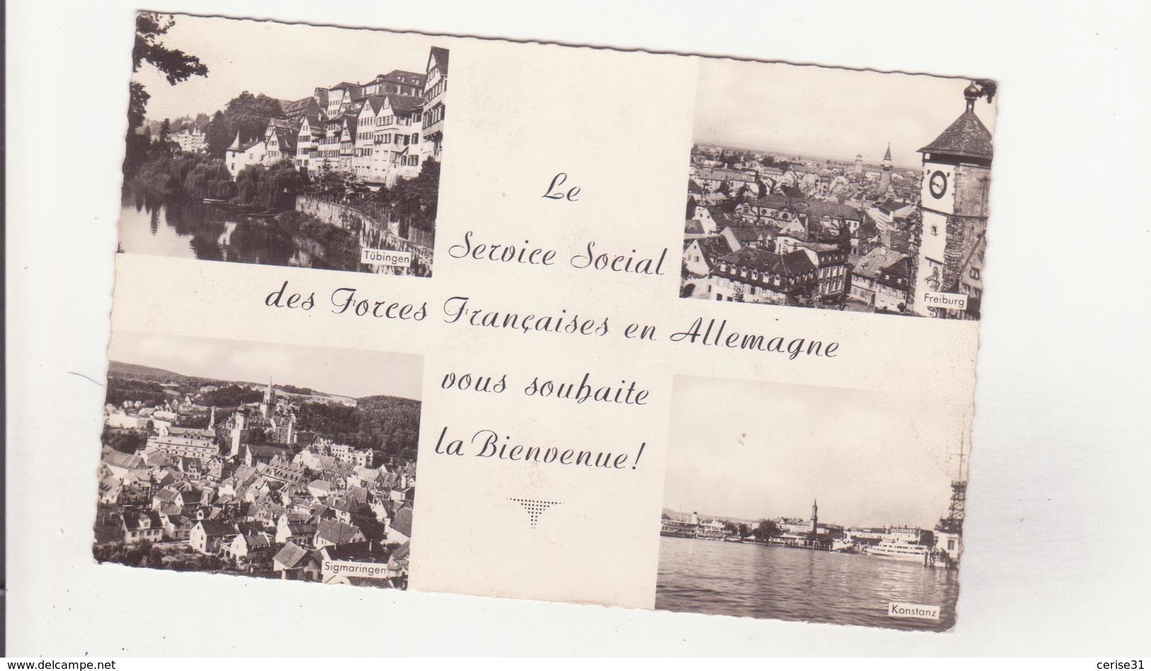 CSM - Le Service Social Des FORCES FRANCAISES EN ALLEMAGNE ....... - Duitsland