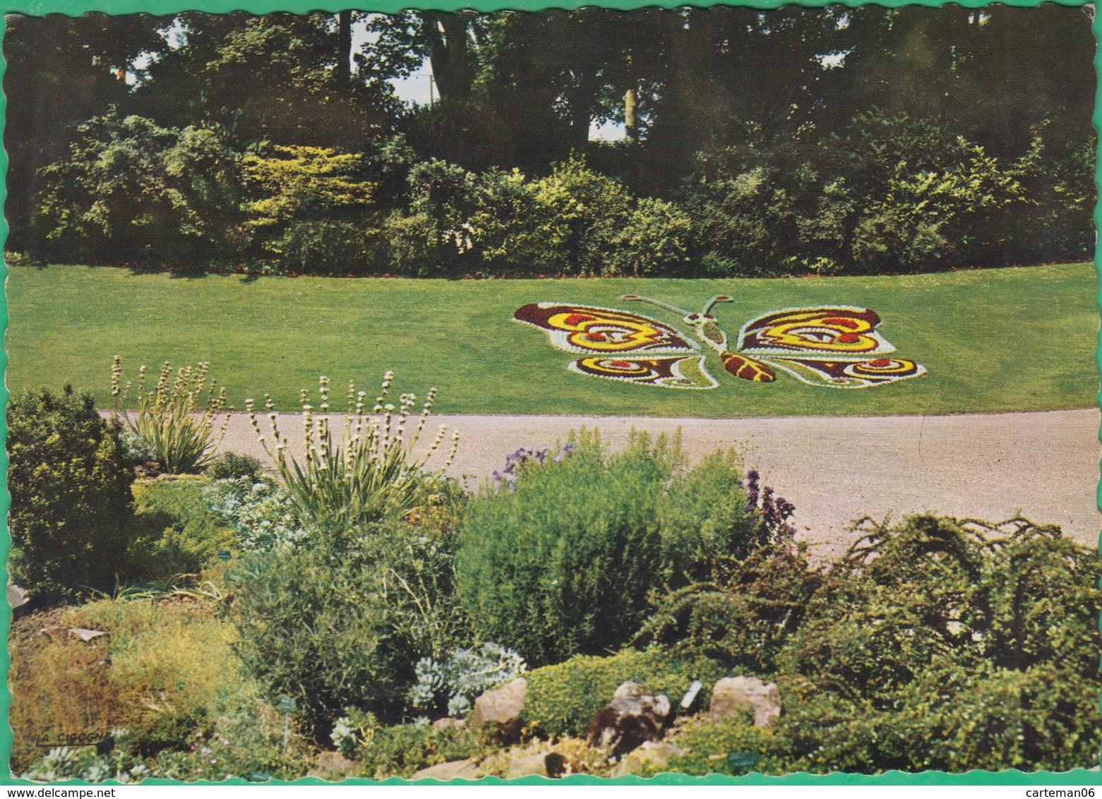 14 - Caen - Jardin Des Plantes - Le Papillon - Editeur: La Cigogne N°14118139 - Caen