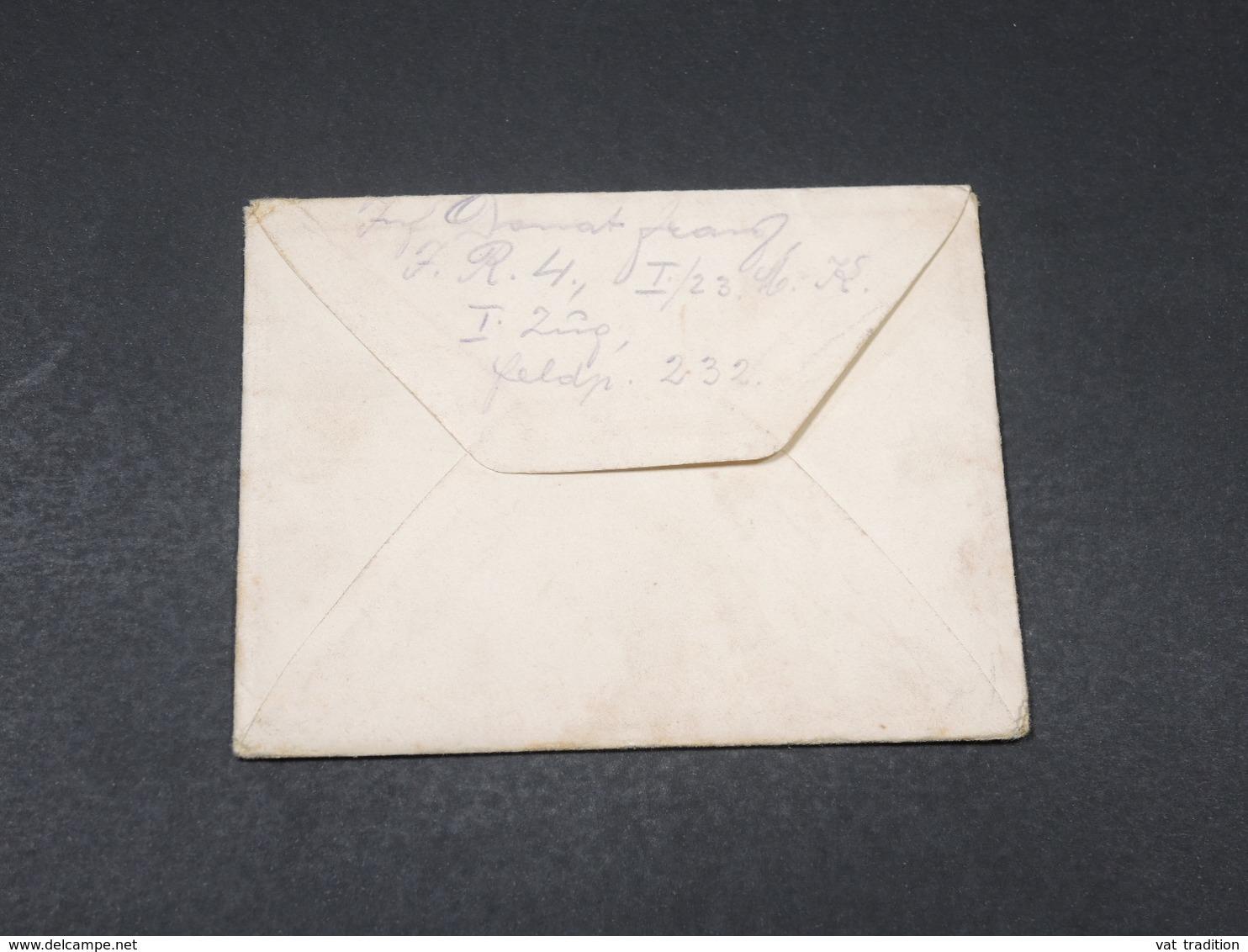 ALLEMAGNE- Enveloppe En Felpost Pour Wien En 1916 - L 17852 - Germany