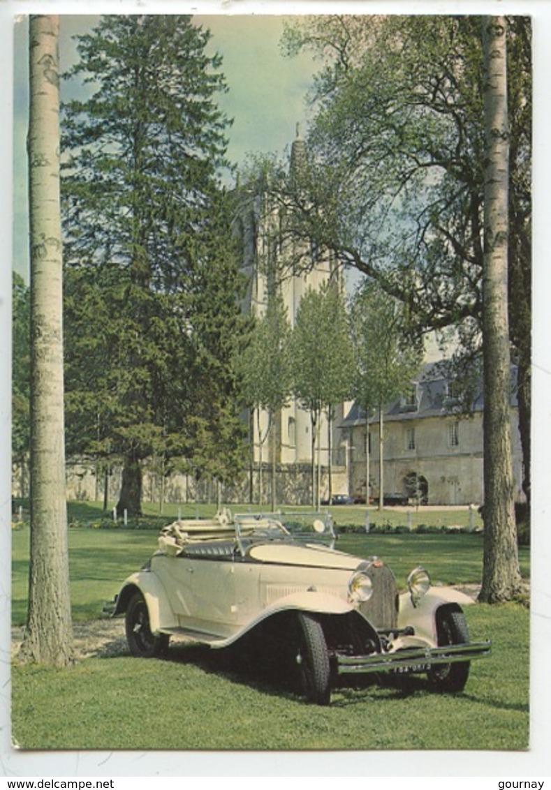 Bugatti 40 - 1930 - Collection Chassaing De Borredon Le Bec Helloin Musée Automobile De L'abbatiale (cp Vierge) - Passenger Cars
