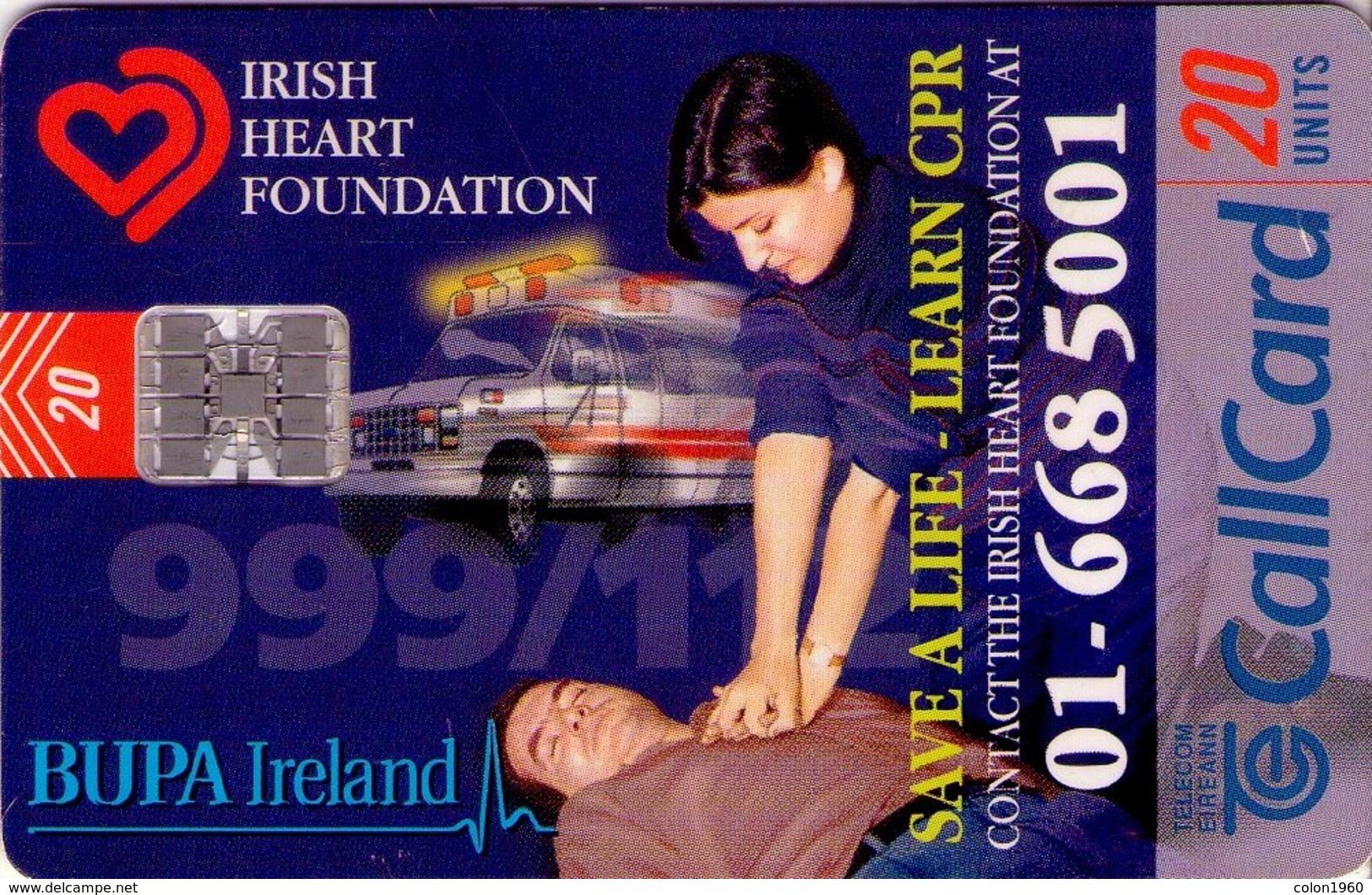 TARJETA TELEFONICA DE IRLANDA, IRISH HEART FOUNDATION. 1229 (052) - Irlanda