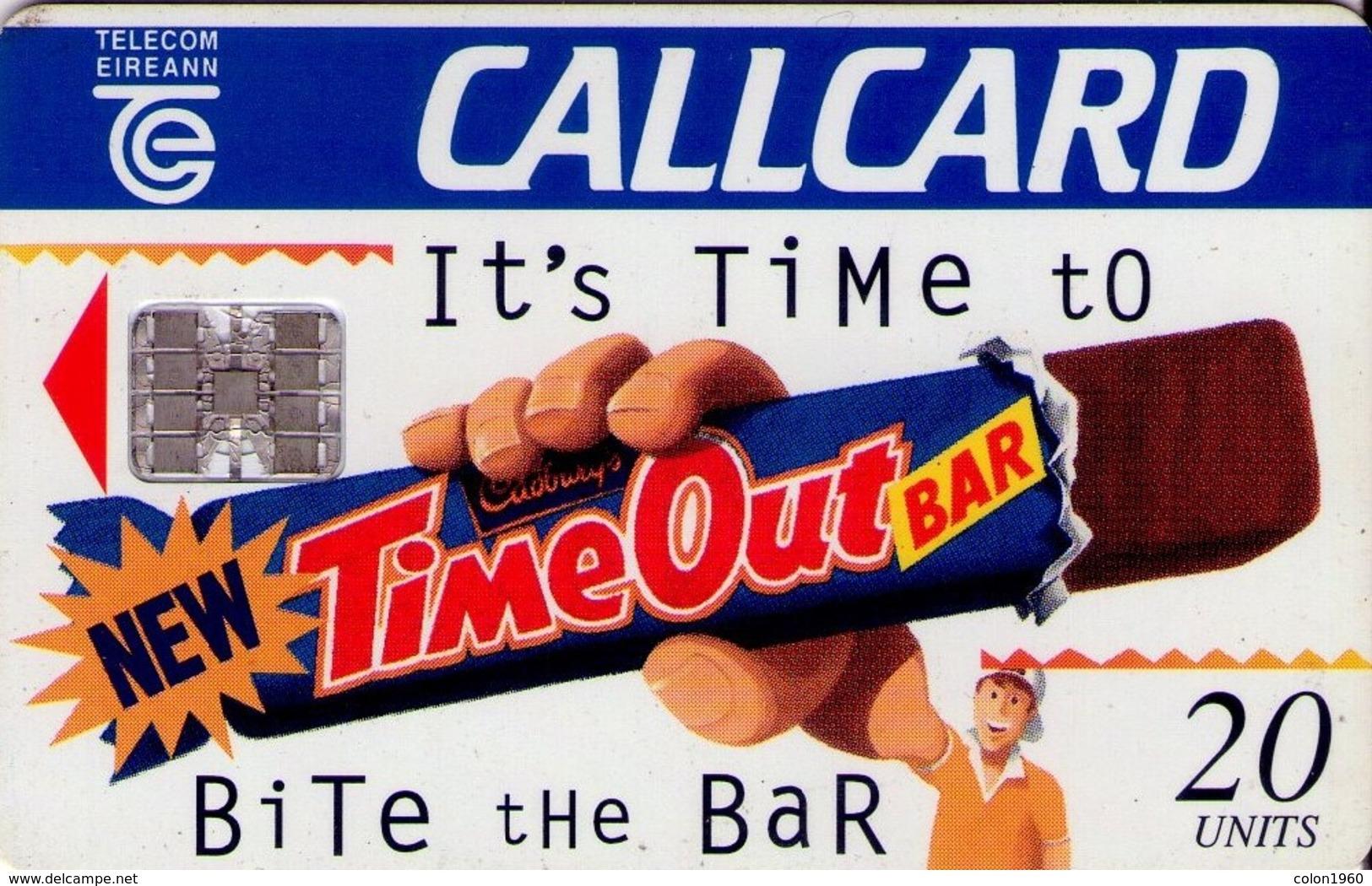 TARJETA TELEFONICA DE IRLANDA, CADBURY'S - IT'S TIME TO BITE THE BAR. 1101 (081) - Irlanda
