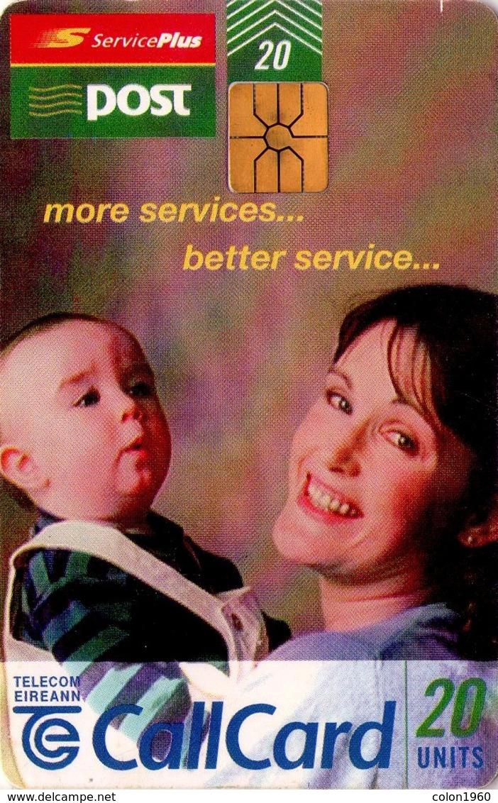 TARJETA TELEFONICA DE IRLANDA, AN POST MORE SERVICES, BETTER SERVICE. 1156 (076) - Irlanda