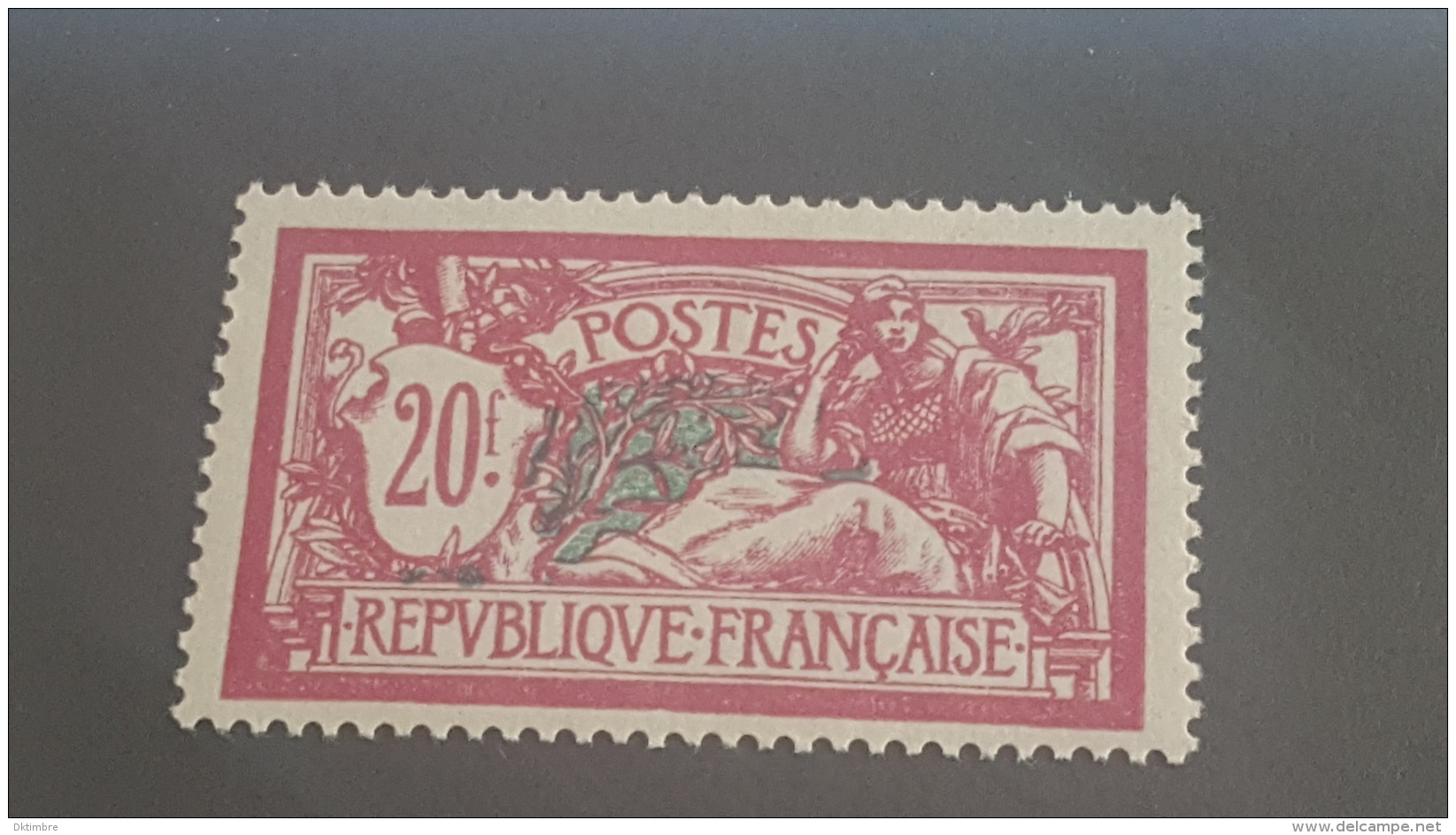 LOT 399759 TIMBRE DE FRANCE NEUF** N°208 VALEUR 550 EUROS - France