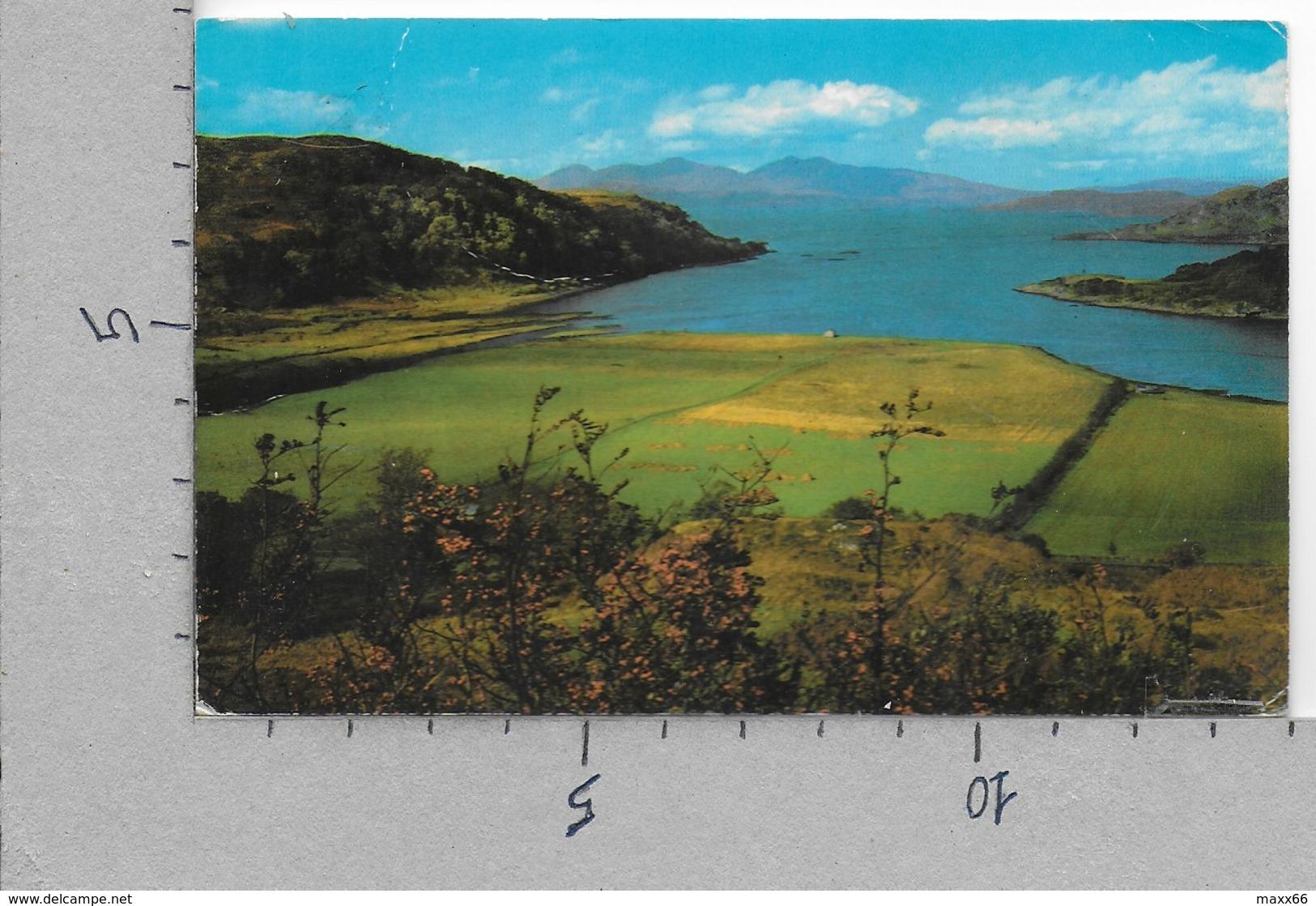 CARTOLINA VG REGNO UNITO - The Isle Of MULL From Loch Feochan - 9 X 14 - ANN. 1973 - Argyllshire