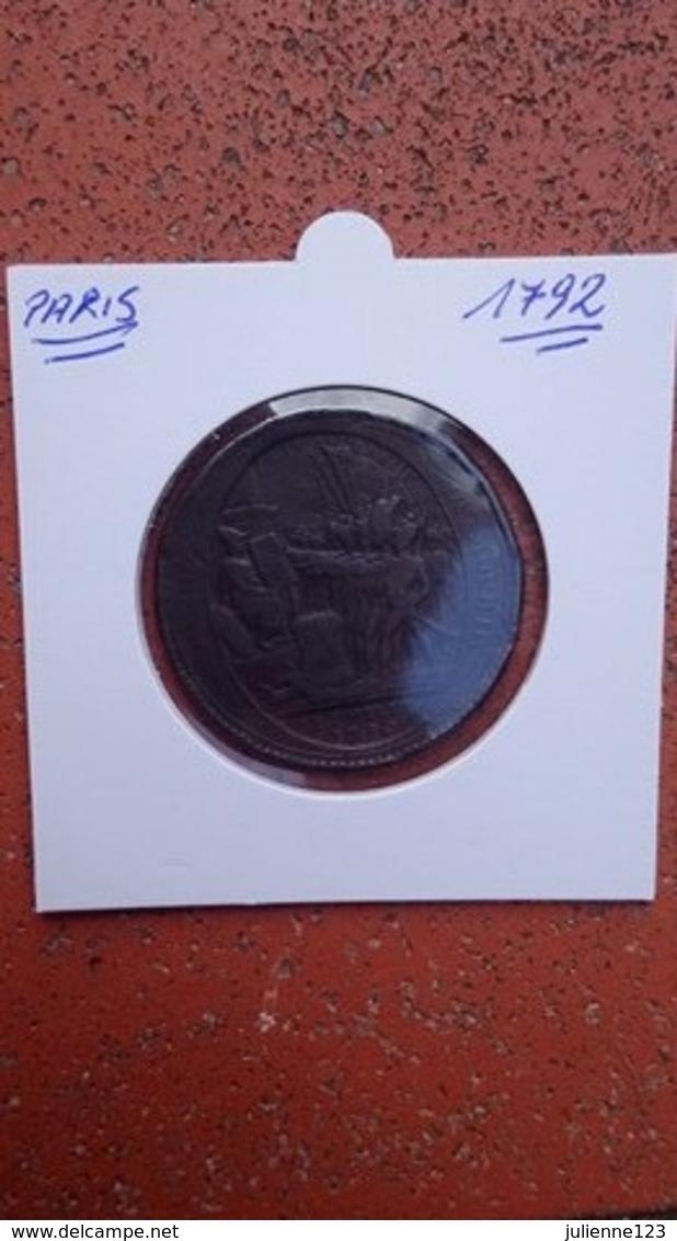 PARIS 1792 - Monetary / Of Necessity