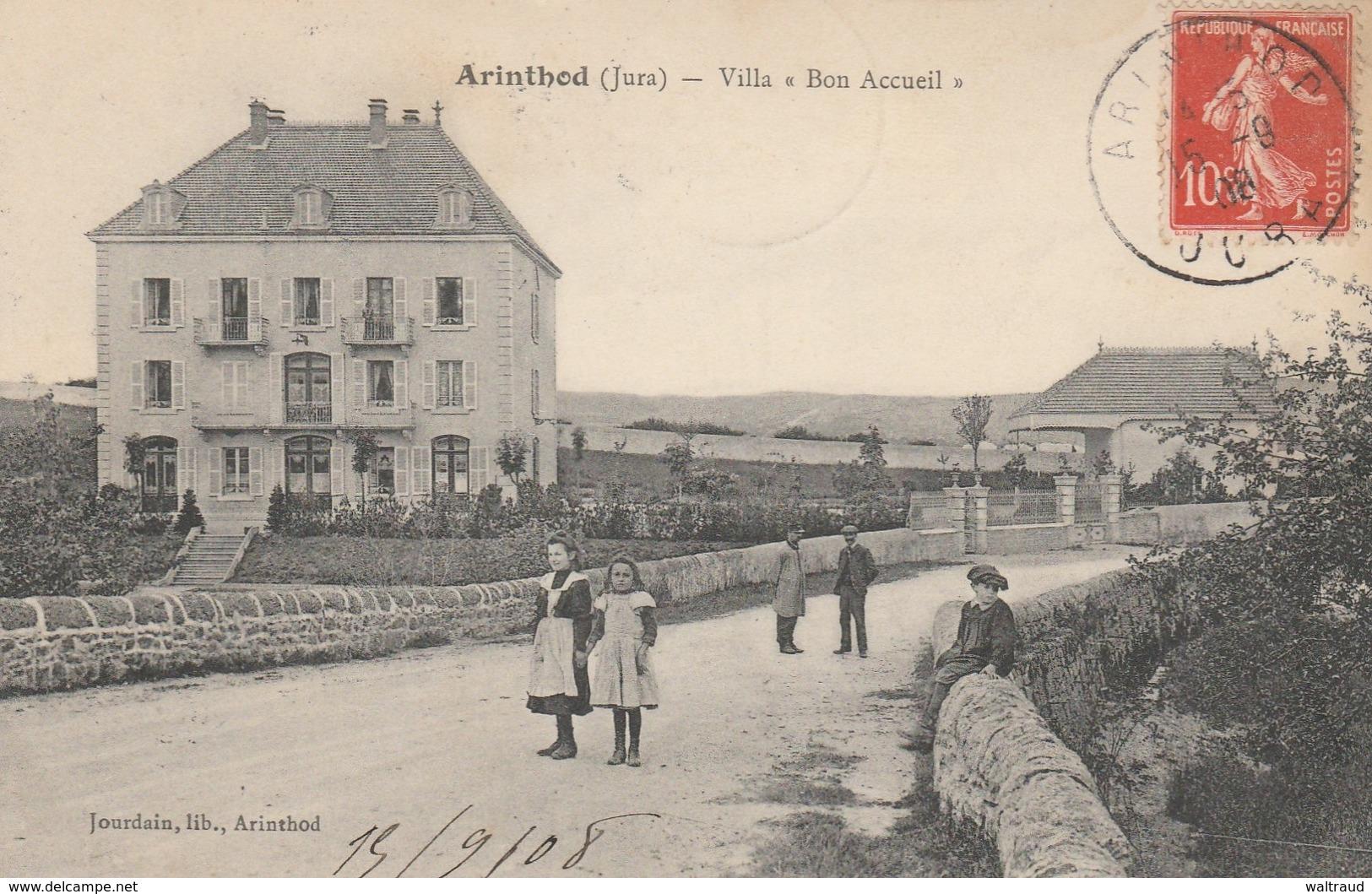 39--ARINTHOD--VILLA BON ACCUEIL--TBE--VOIR SCANNER - France