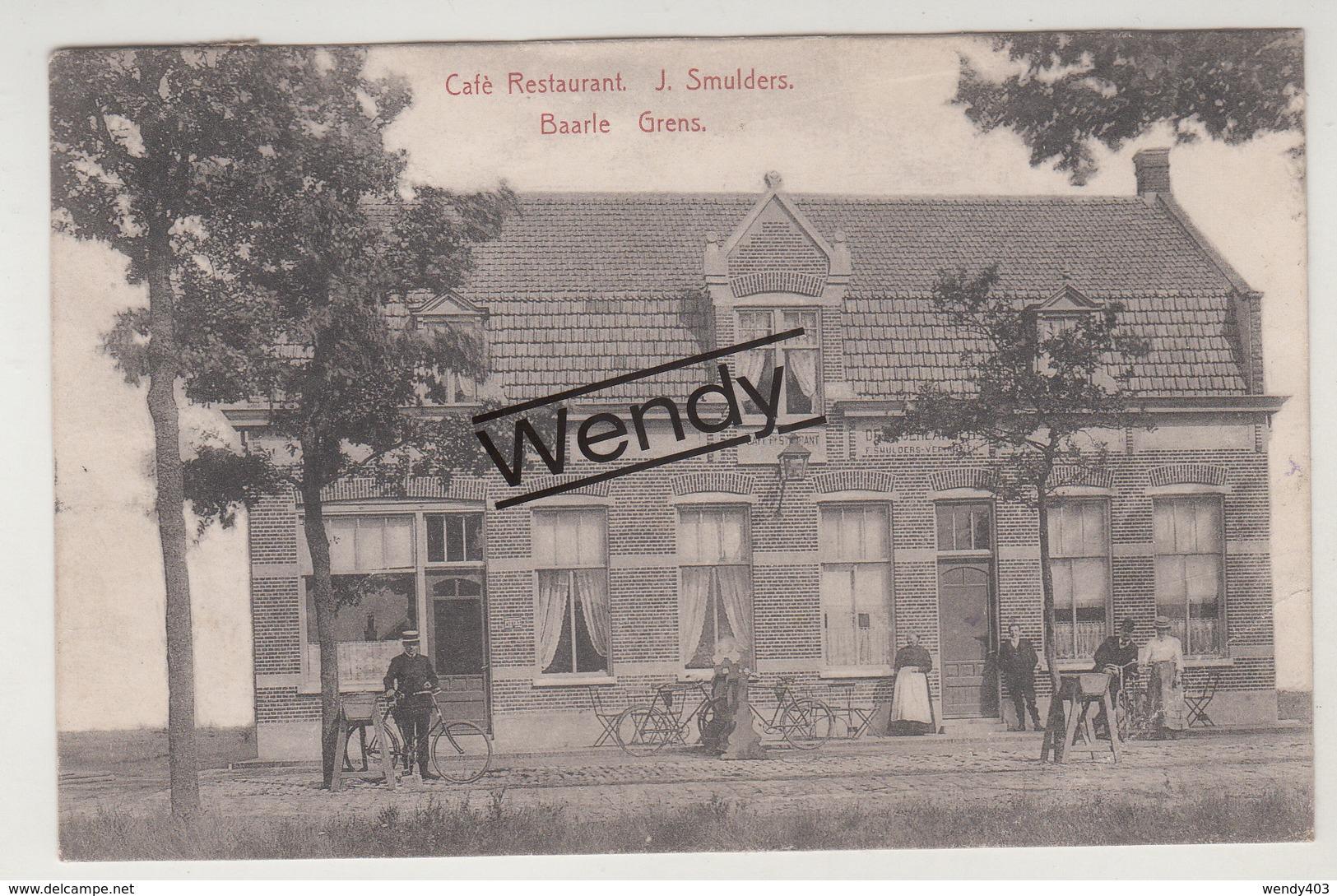 Baarle (café-restaurant J. Smulders-Grens) - Baarle-Hertog