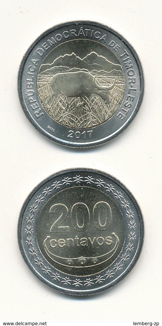 Timor - 200 Centavos 2017 UNC Lemberg-Zp - Timor