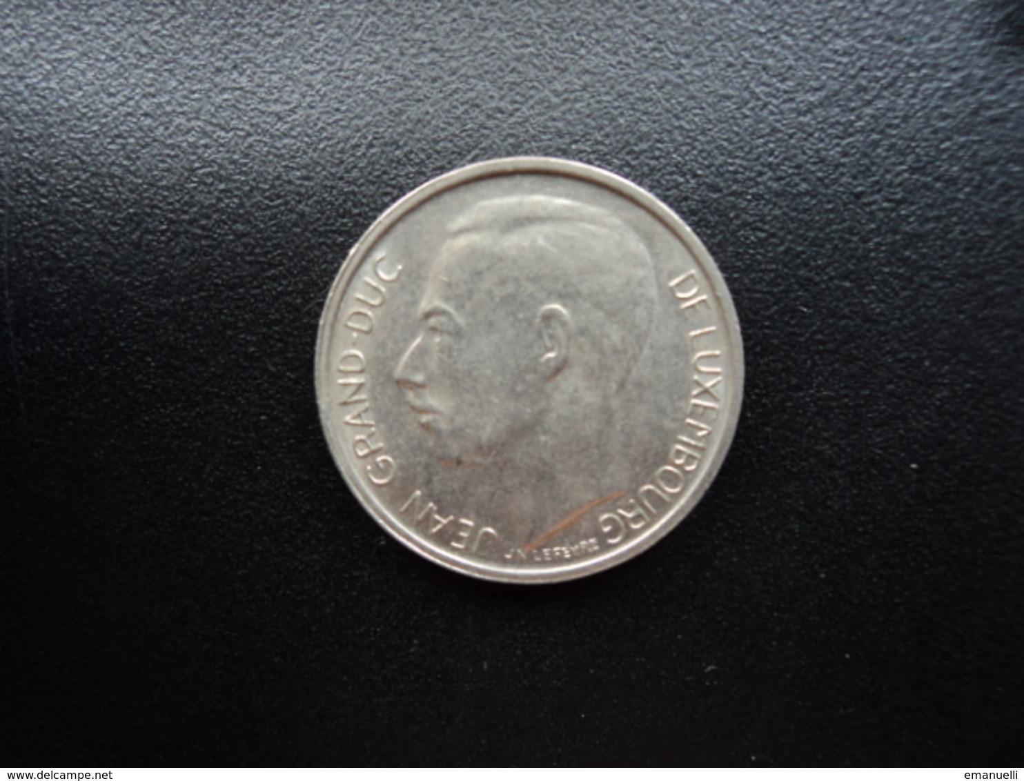 LUXEMBOURG : 1 FRANC  1970   KM 55    SUP - Luxemburgo