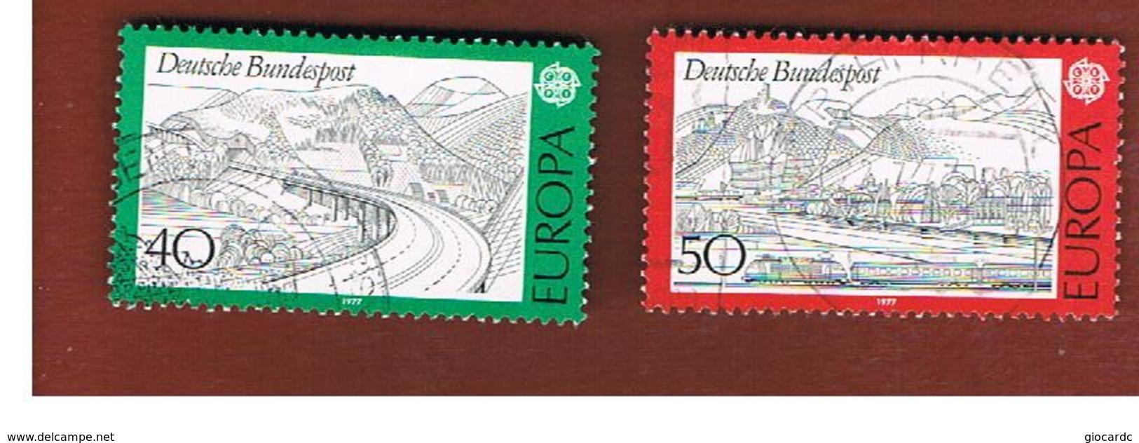 GERMANIA (GERMANY)  - 1977 EUROPA  - USED - Europa-CEPT