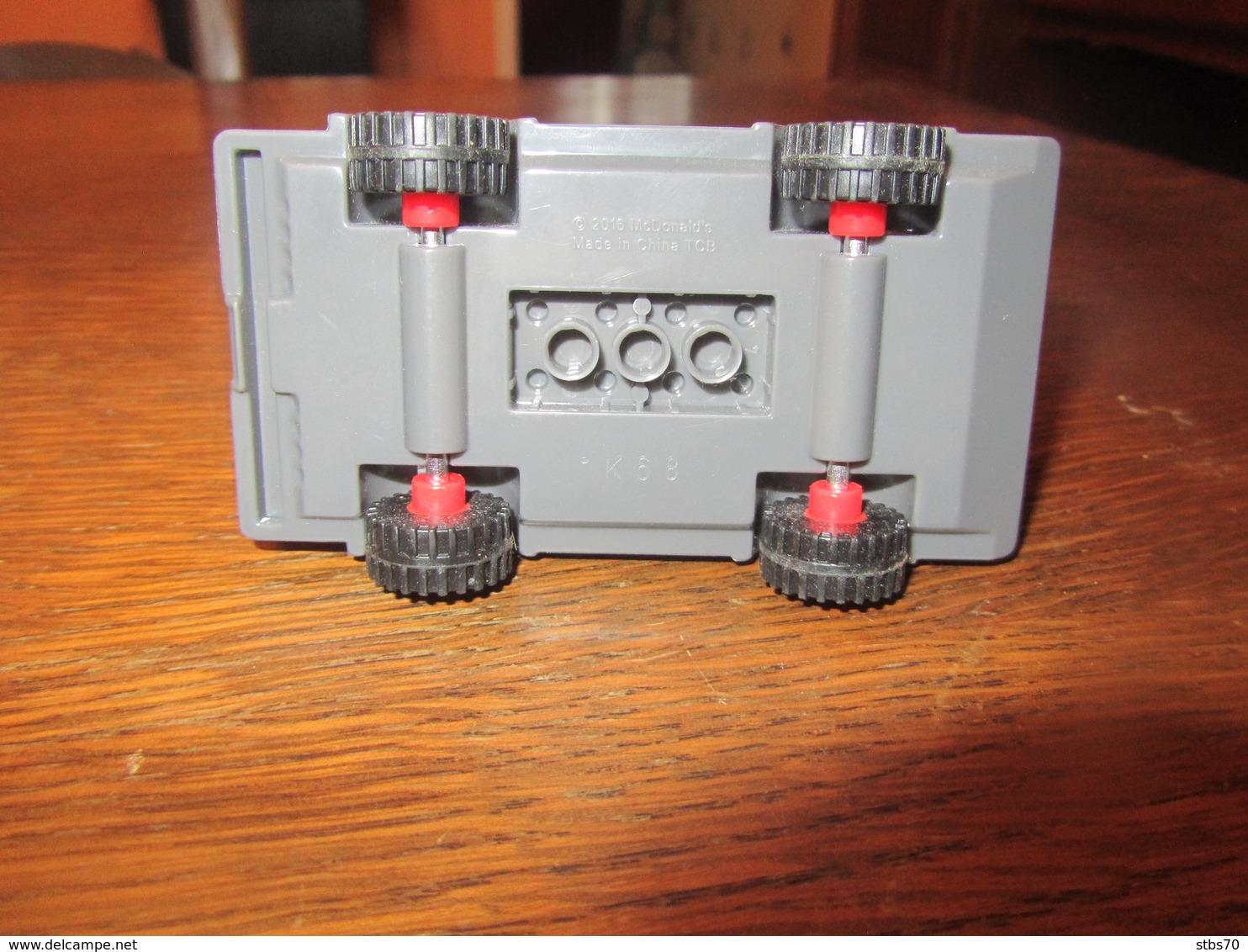 CC90 Mac Donald, Copie Lego, Camion De Pompier, 2016, 10,5 Cm - Other