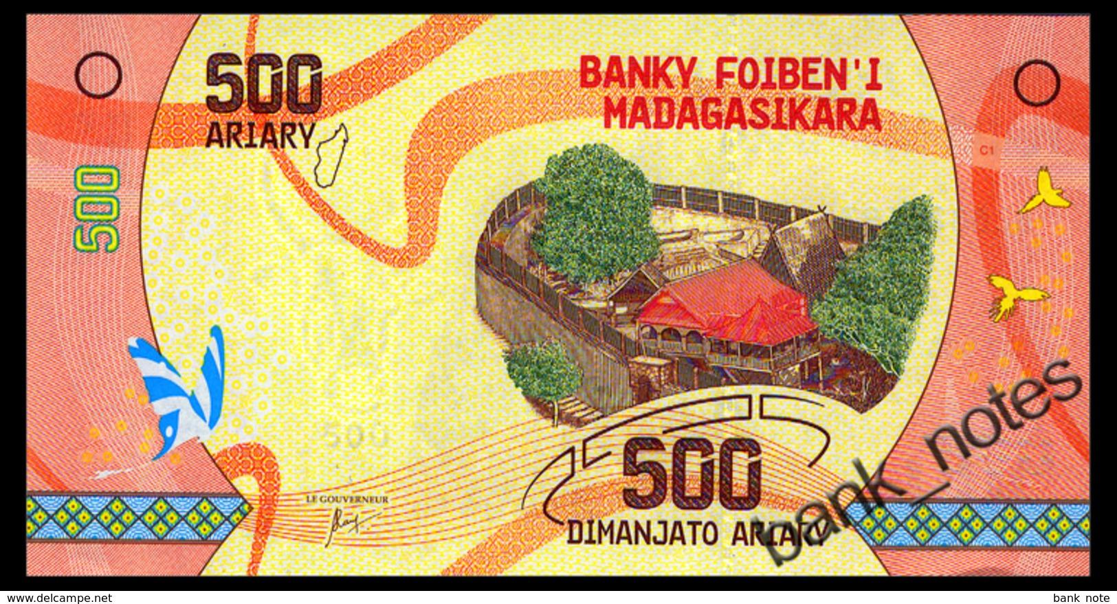 MADAGASCAR 500 ARIARY ND(2017) Pick 99 Unc - Madagaskar