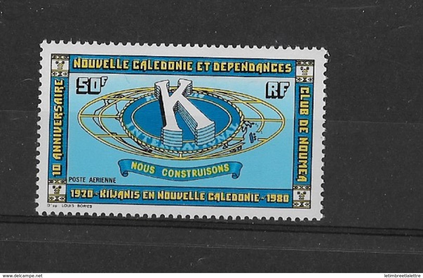 Nouvelle-Calédonie N°206**  P.A. - Nueva Caledonia