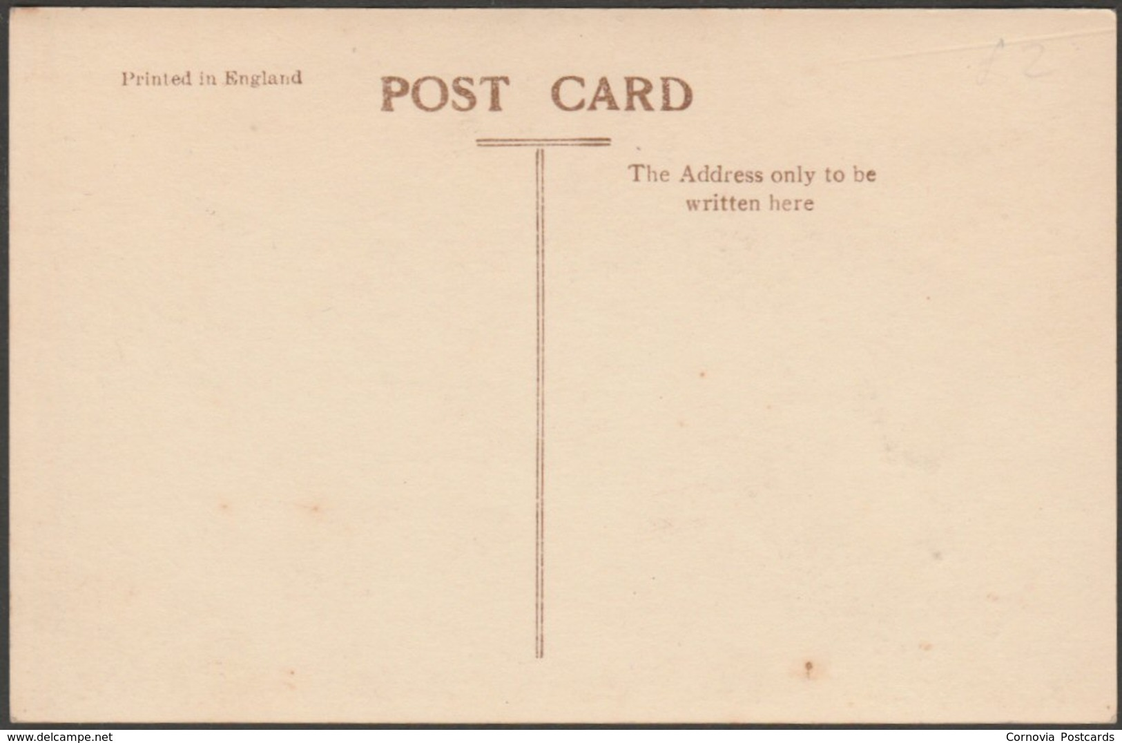Jamestown, St Helena, Looking North, C.1930 - RP Postcard - Saint Helena Island