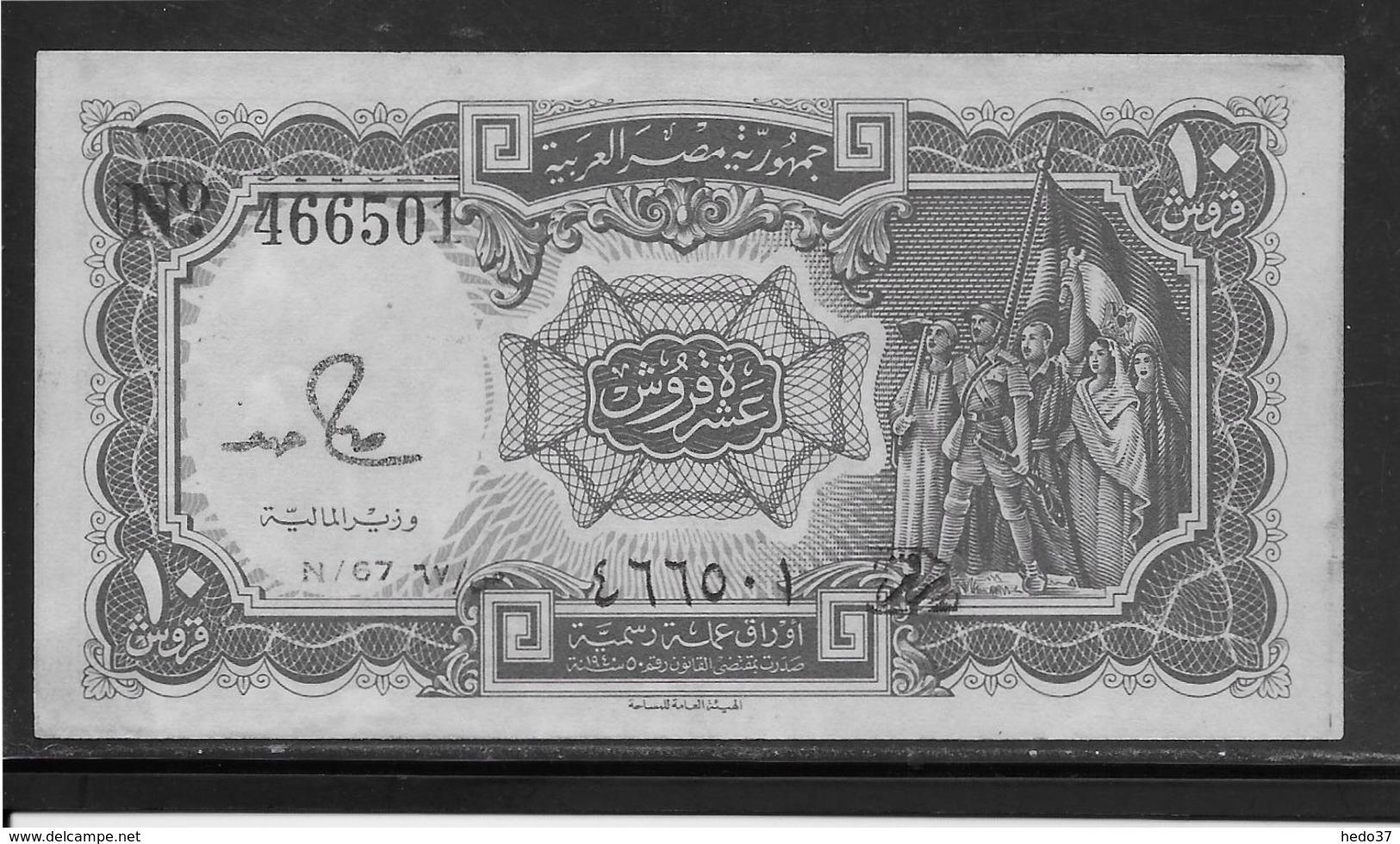 Egypte - 10 Piastres - Pick N°184a - SPL - Egypt