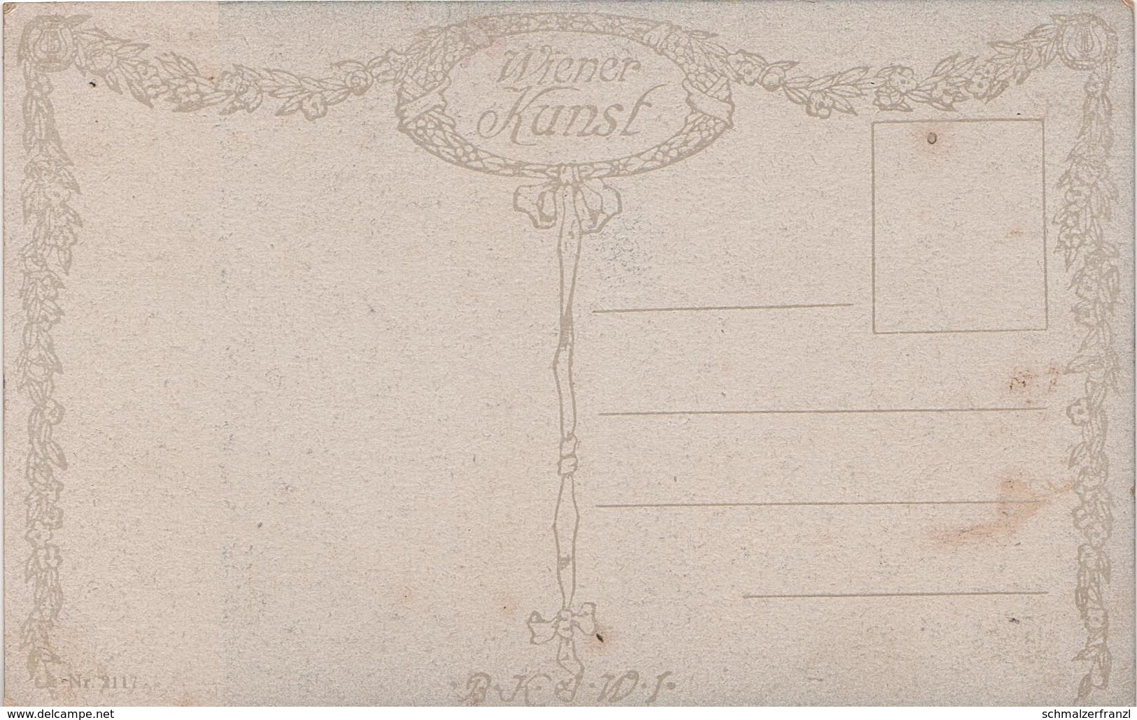 Künstlerkarte AK H. Temple Gem. Musikzimmer Art Malerei Wiener Kunst Wien Österreich Austria Autriche - 1900-1949