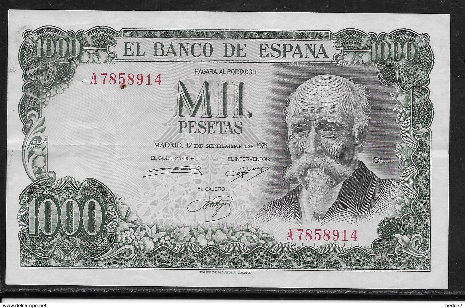 Espagne - 1000 Pesetas - Pick N°154 - SUP - [ 4] 1975-… : Juan Carlos I