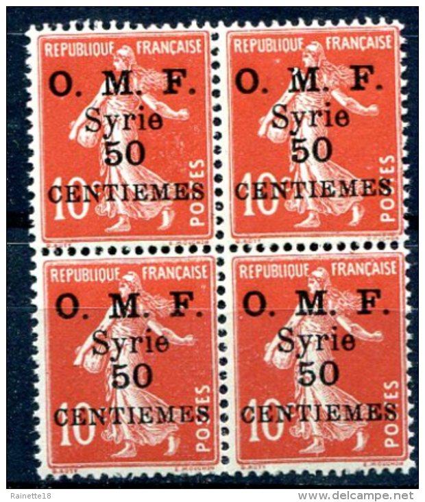 Syrie                      58 **  Bloc De 4 - Syria (1919-1945)