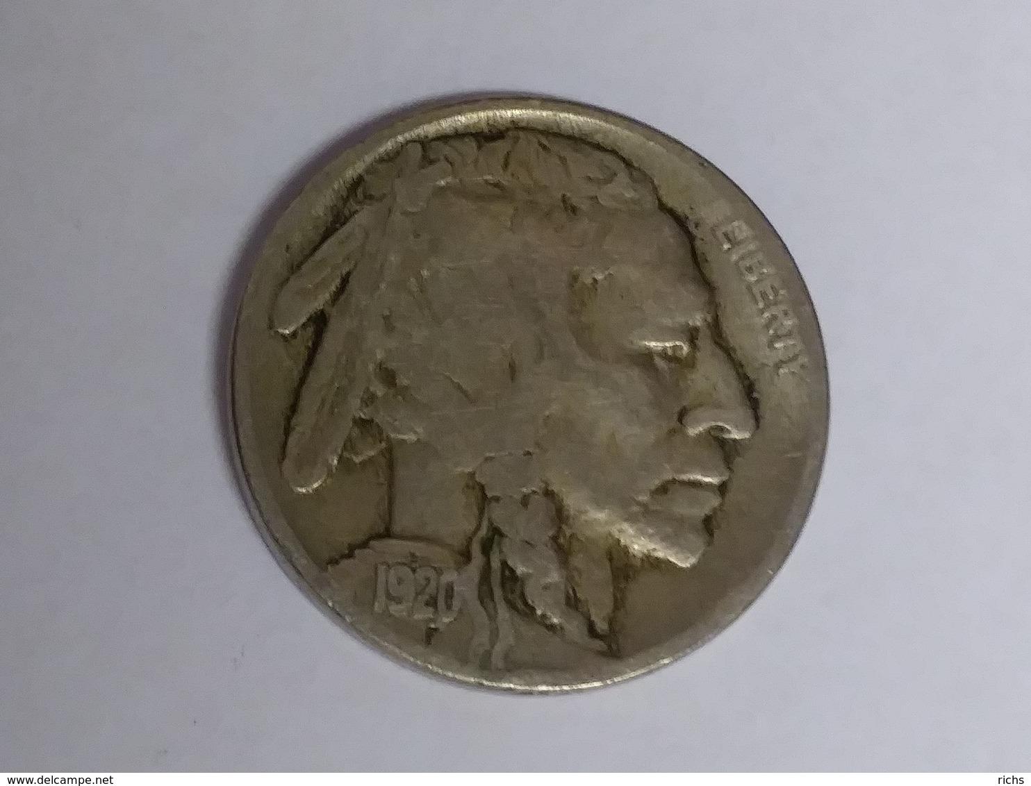 1920 Buffalo Nickel - Bondsuitgaven