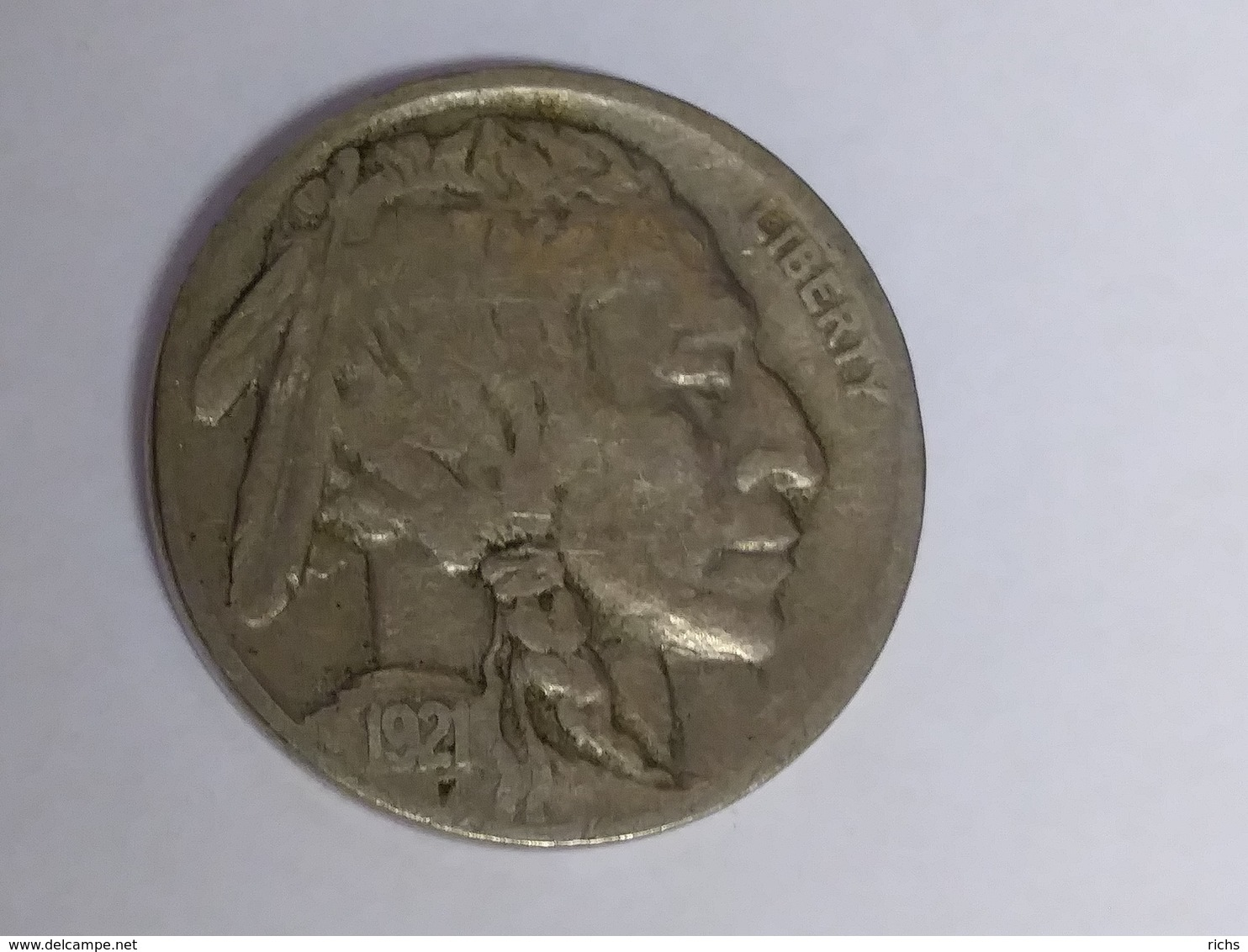 1921 Buffalo Nickel - Federal Issues