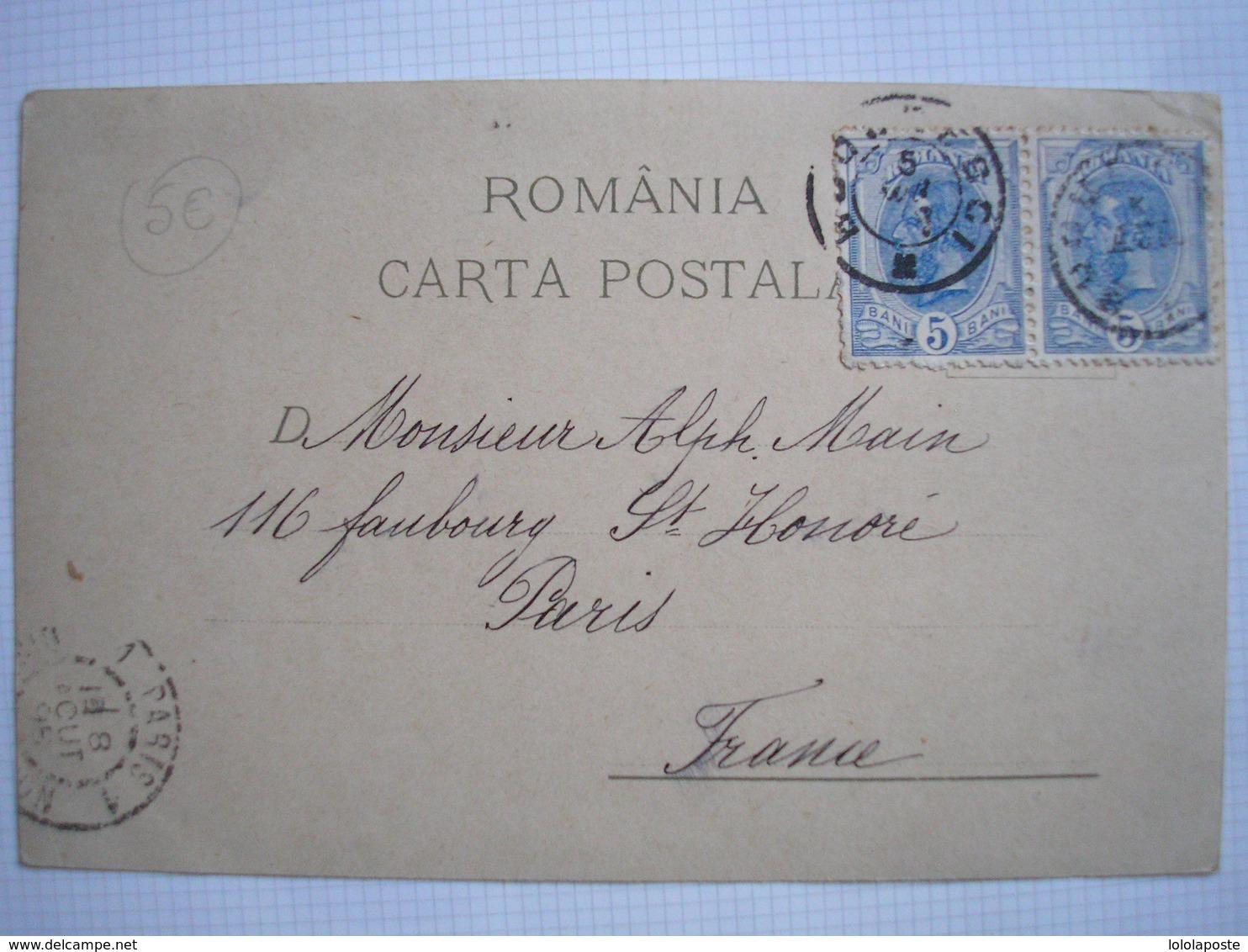 ROUMANIE - CPA - BUCAREST - BUCURESCI - SUPERBE Carte Multivues Couleur Du 19 ème Siècle - Romania