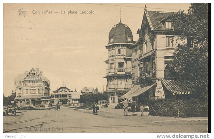 BELGIQUE DE HAAN LA PLACE LEOPOLD - De Haan