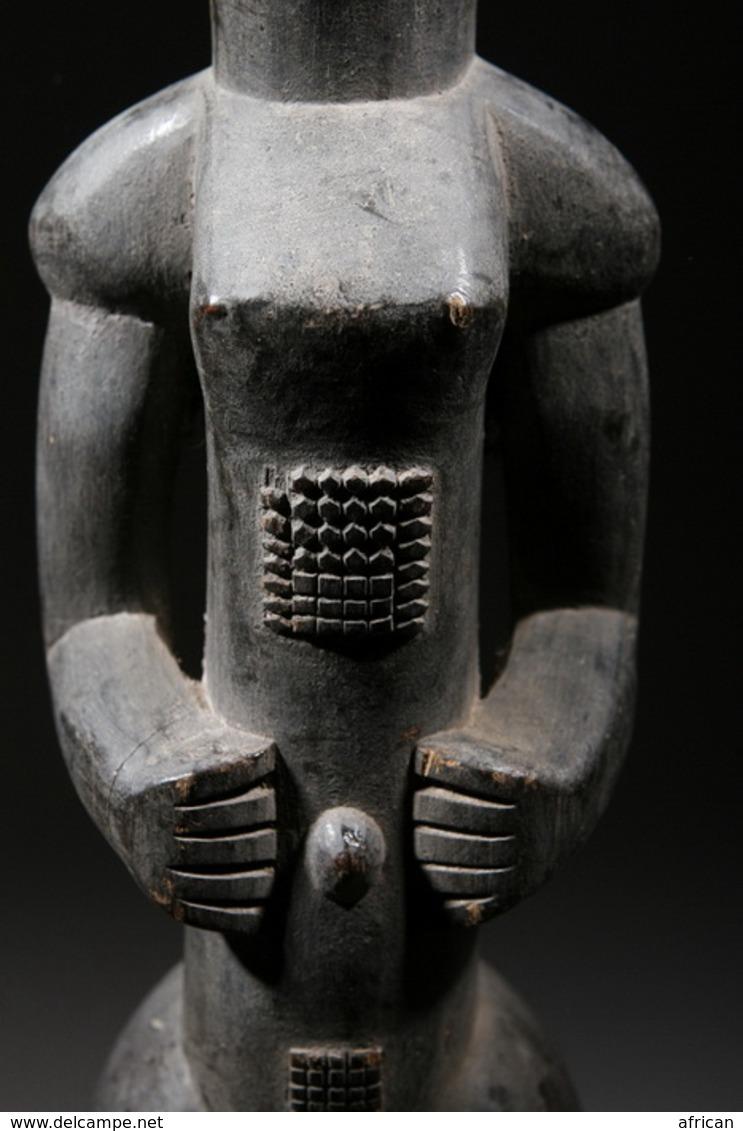 Art Africain Statue Baoulé - Art Africain