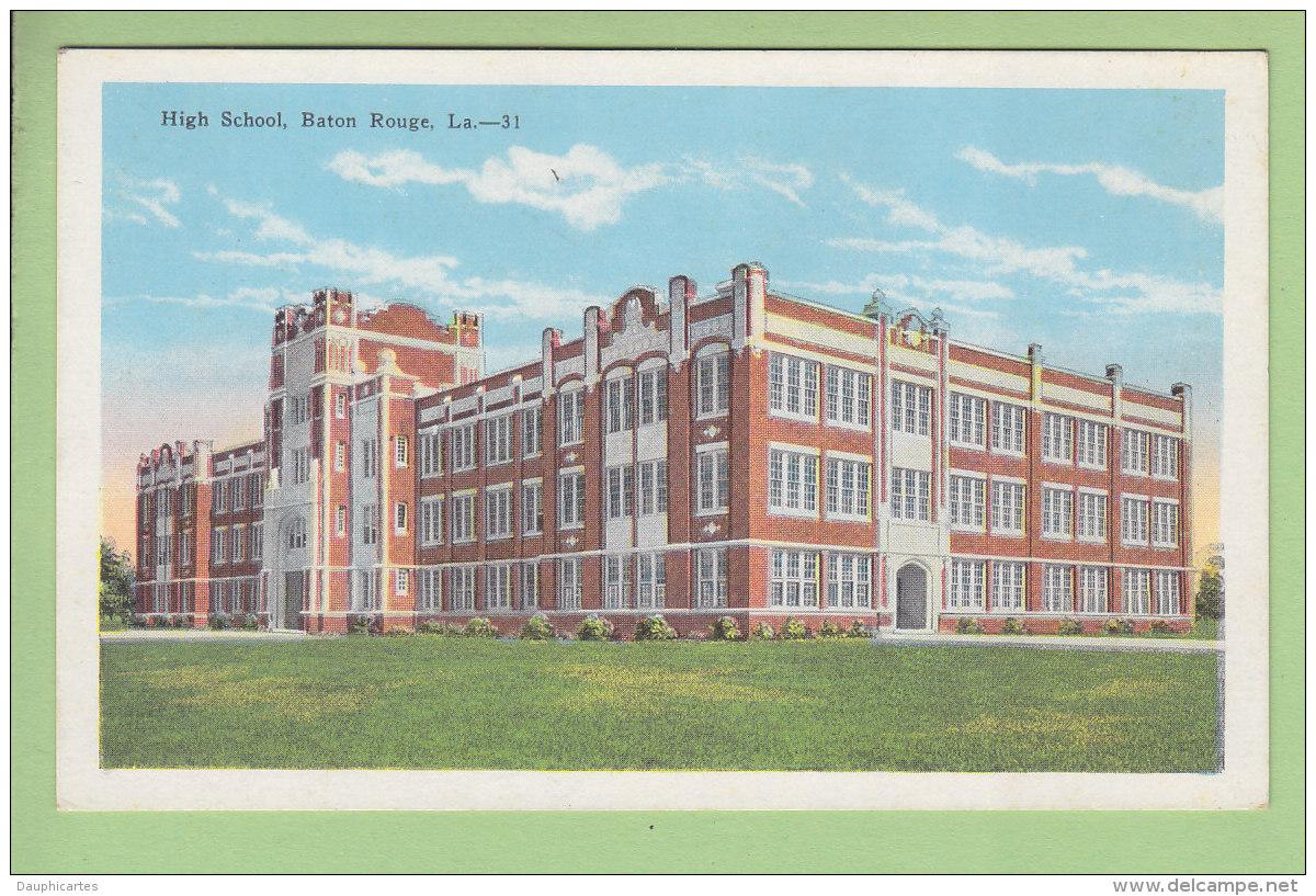 BATON ROUGE : High School. 2 Scans. Edition Kropp - Baton Rouge