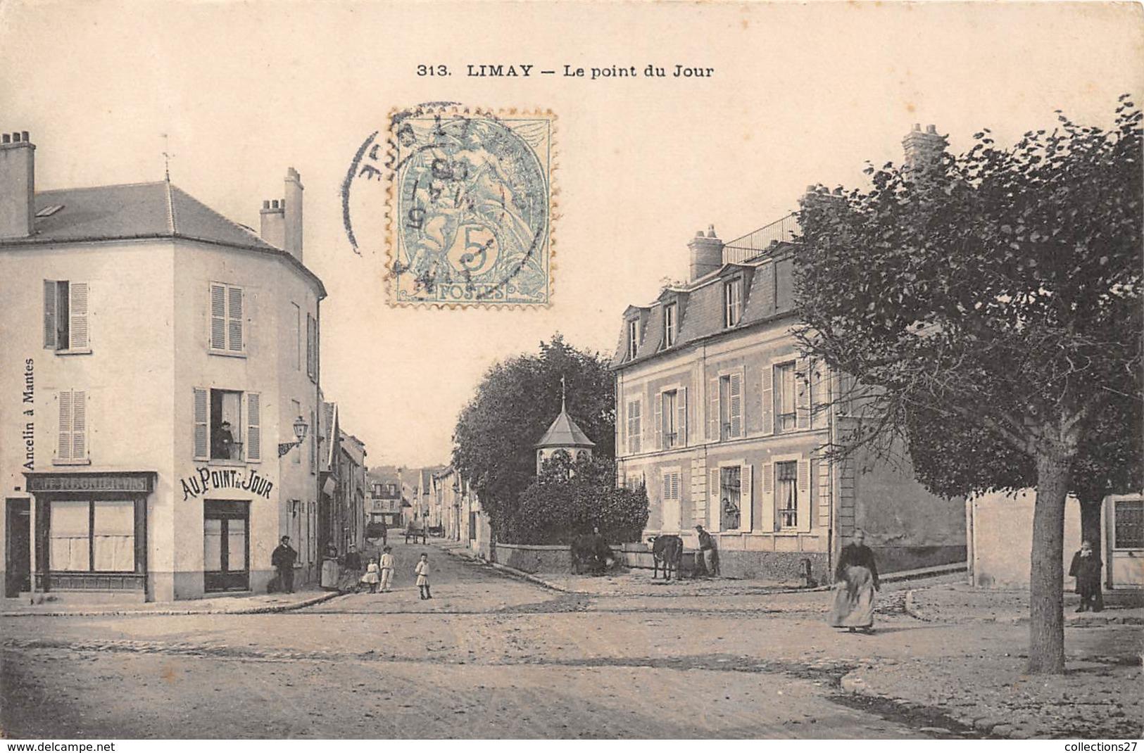 78-LIMAY- LE POINT DU JOUR - Limay