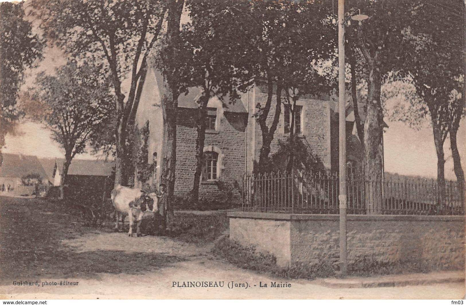 Plainoiseau Canton Voiteur - Autres Communes