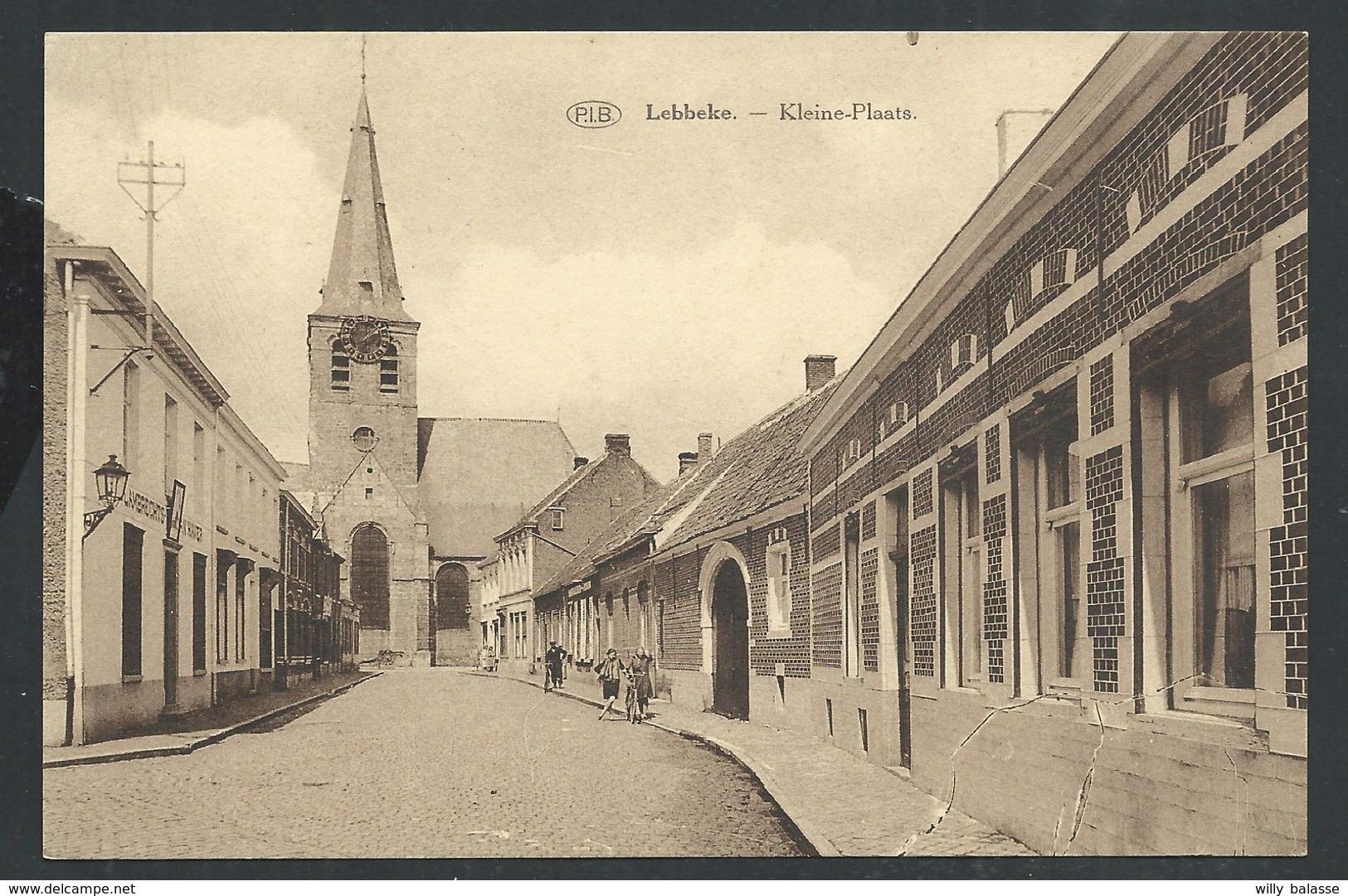 +++ CPA - LEBBEKE - Kleine Plaats - P.I.B.    // - Lebbeke