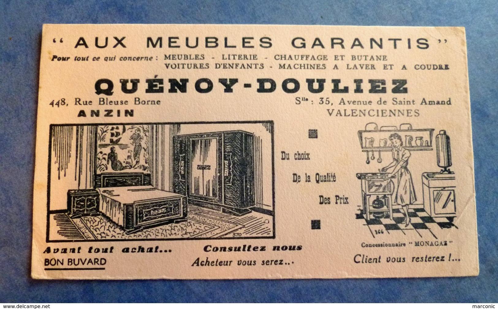 Buvard Ancien - AUX MEUBLES GARANTIS QUENOY DOULIEZ, VALENCIENNES Et ANZIN - Chambre, Cuisine - Carte Assorbenti