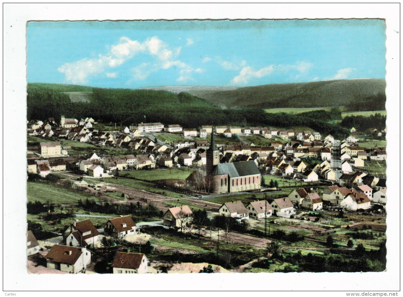 20954  CPM   Gruss Aus  HASSEL  / SANKT INGBERT , Superbe Carte Photo   Vue Générale  , Totalansicht - Saarpfalz-Kreis