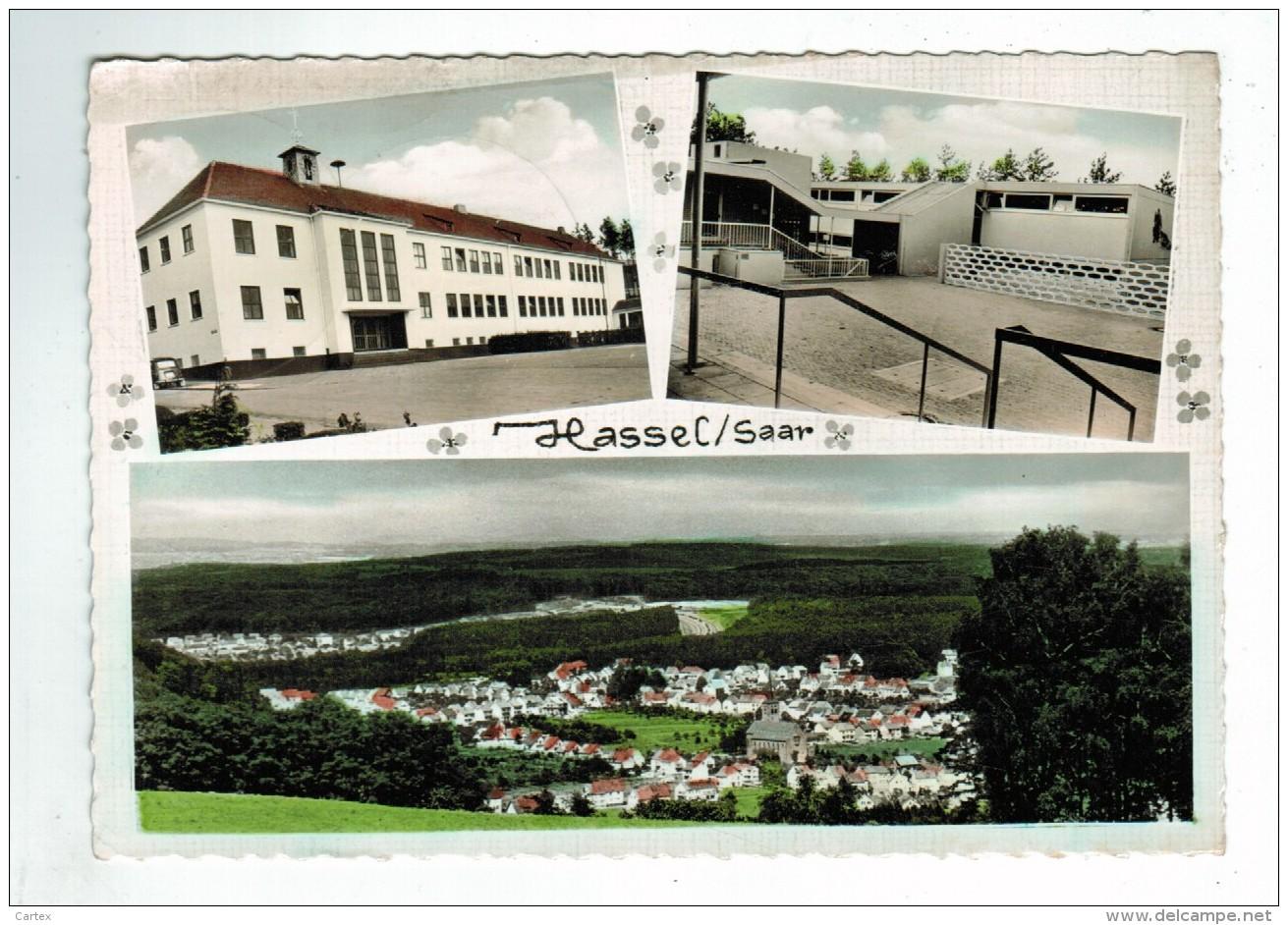 20955  CPM   Gruss Aus  HASSEL  / SANKT INGBERT , Superbe Carte Photo  Multivues  1969 - Saarpfalz-Kreis