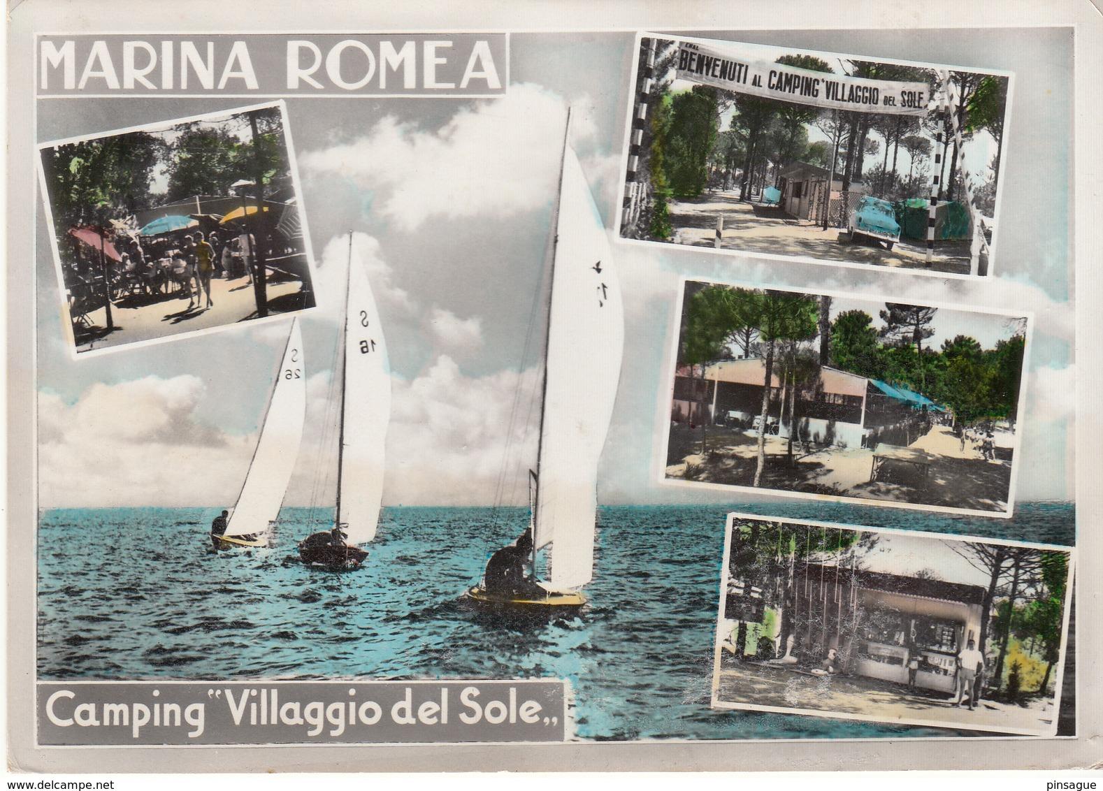 """MARINA ROMEA - Camping """"Villaggio Del Sole """" - Italia"""