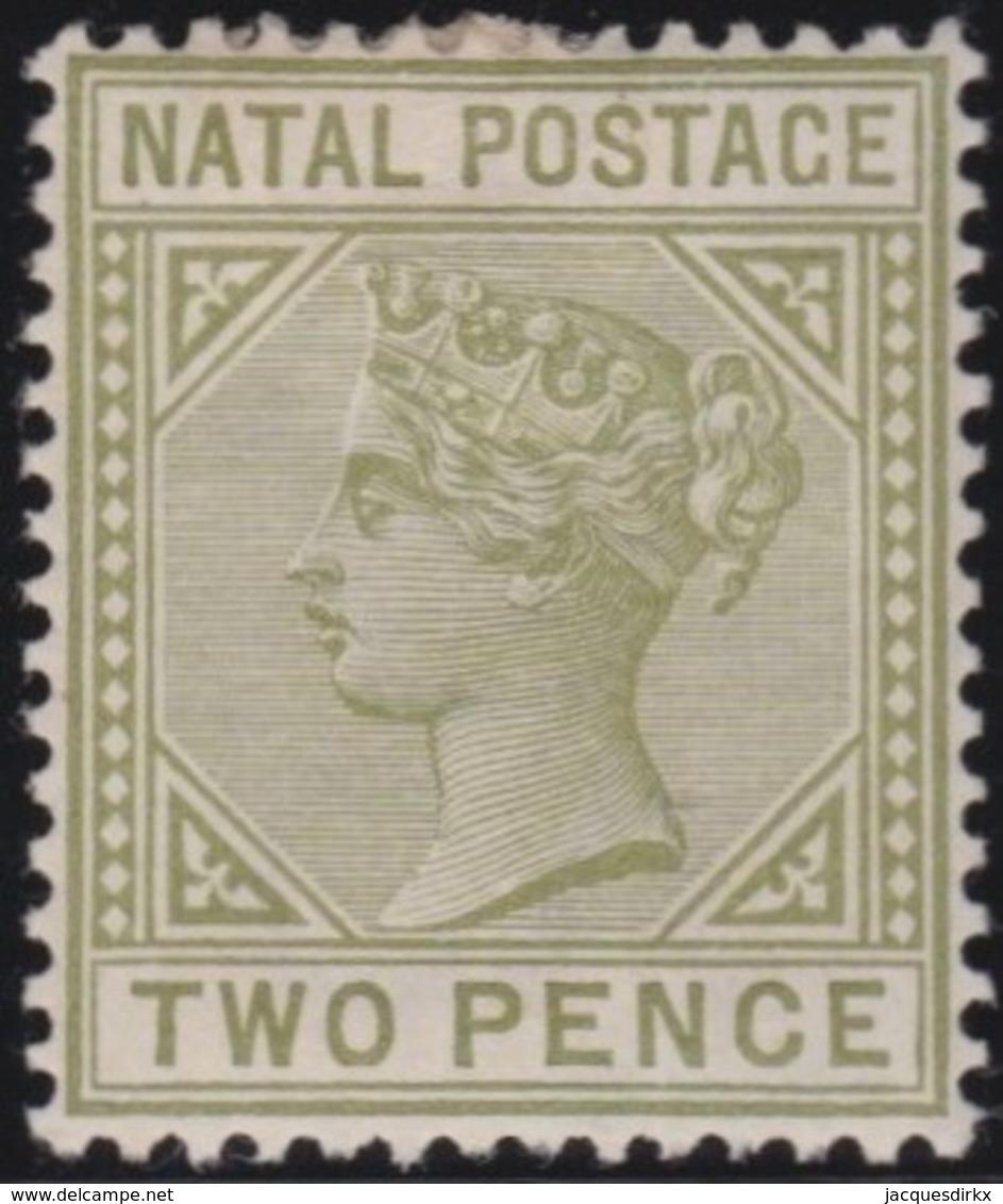 Natal        .   Yvert   45a    .      *          .  Ongebruikt   .     /    .     Mint-hinged - Zuid-Afrika (...-1961)