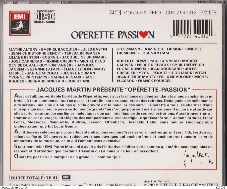 OPERETTE PASSION - Oper & Operette