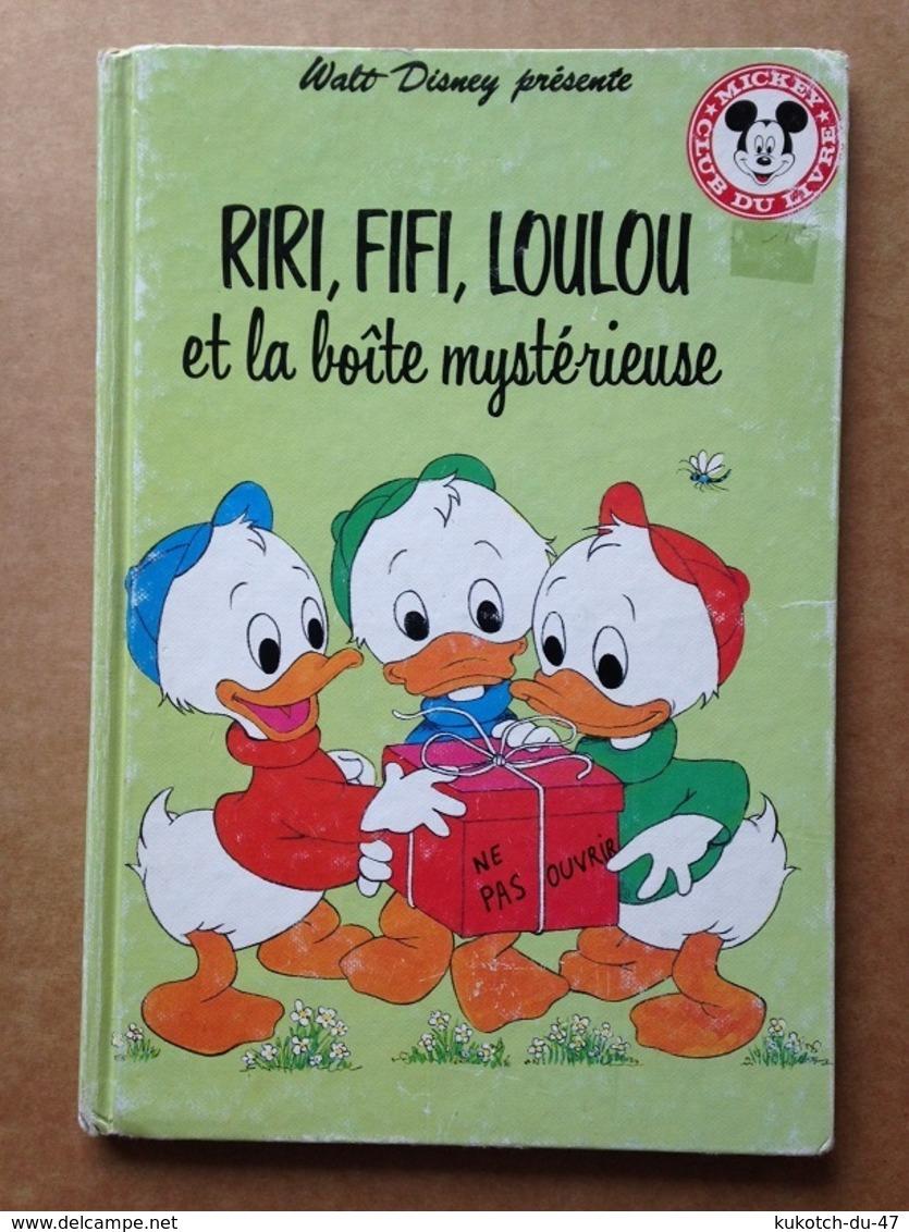 Disney - Mickey Club Du Livre - Riri, Fifi, Loulou Et La Boîte Mystérieuse (1991) - Livres, BD, Revues