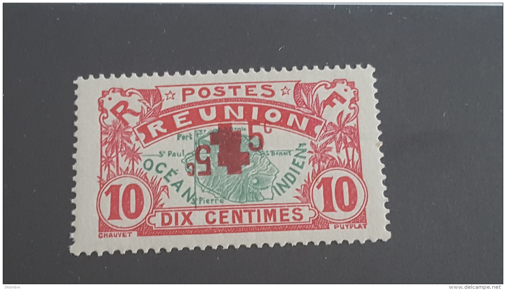 LOT 400192 TIMBRE DE COLONIE REUNION NEUF** N°82 VALEUR 150 EUROS - Neufs