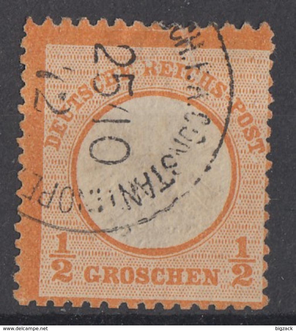 DR Minr.V18 Gestempelt Constantinopel 25.10.72 - Gebraucht