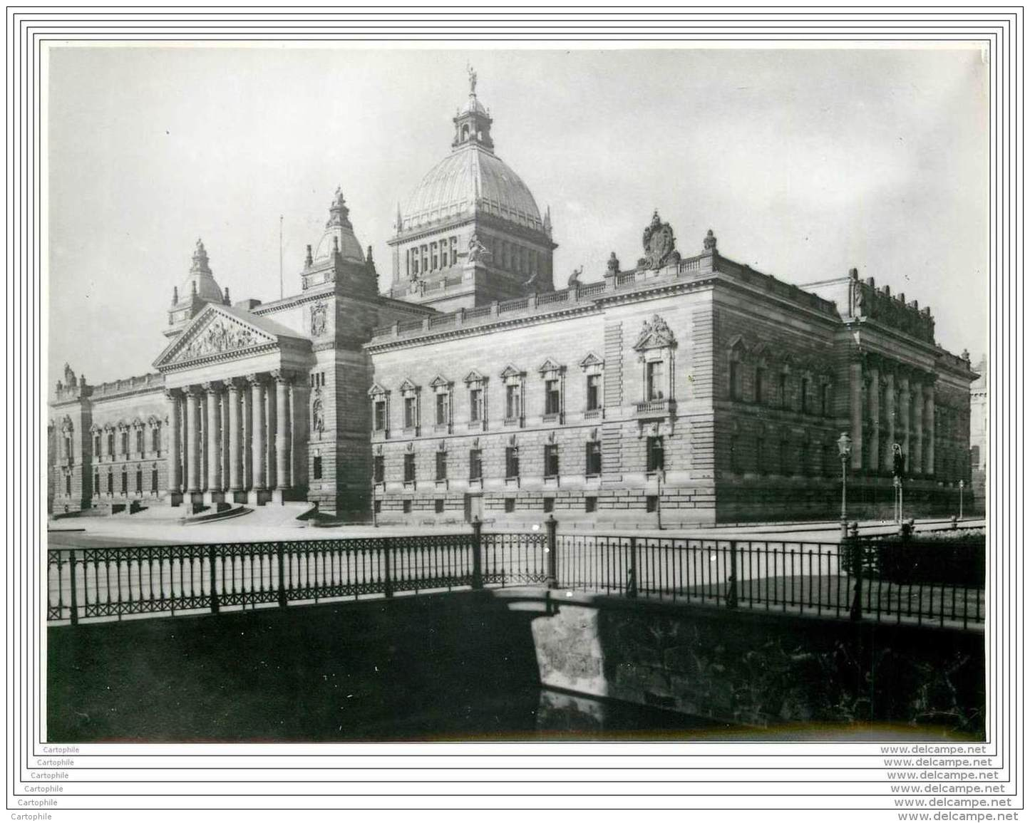 Press Photo - GERMANY - Leipzig - Supreme Court Building Where The Reichstag Fire Trial Opens In 1933 - Lieux