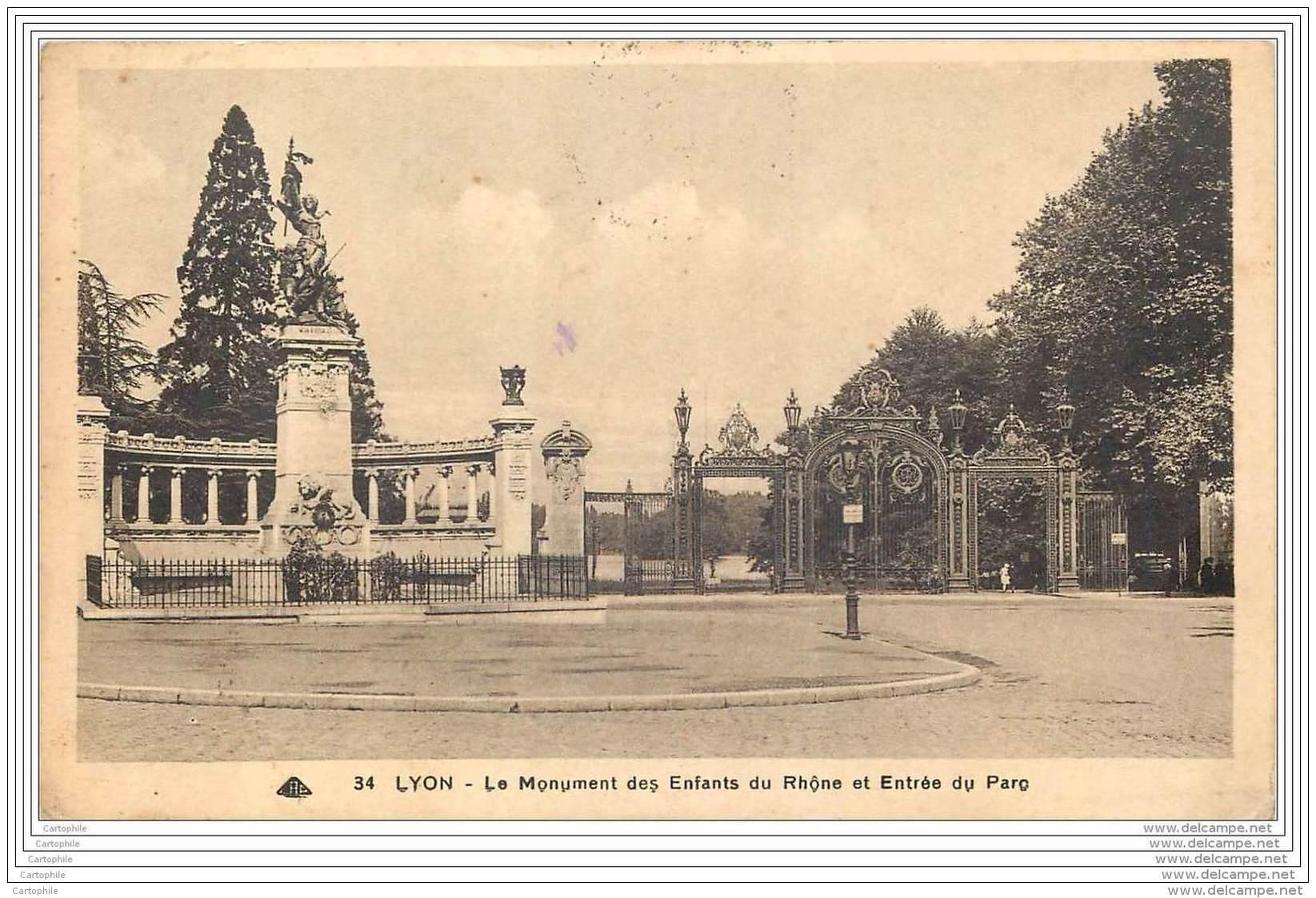 Cachet De La 605e Compagnie Automobile Sur Carte De Lyon 1939 - Marcophilie (Lettres)