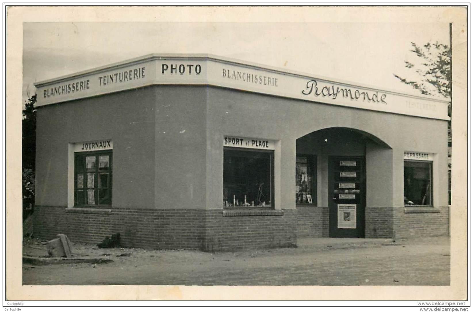 Carte Photo De La Blanchisserie Raymonde - Teinturerie Photo - Vari